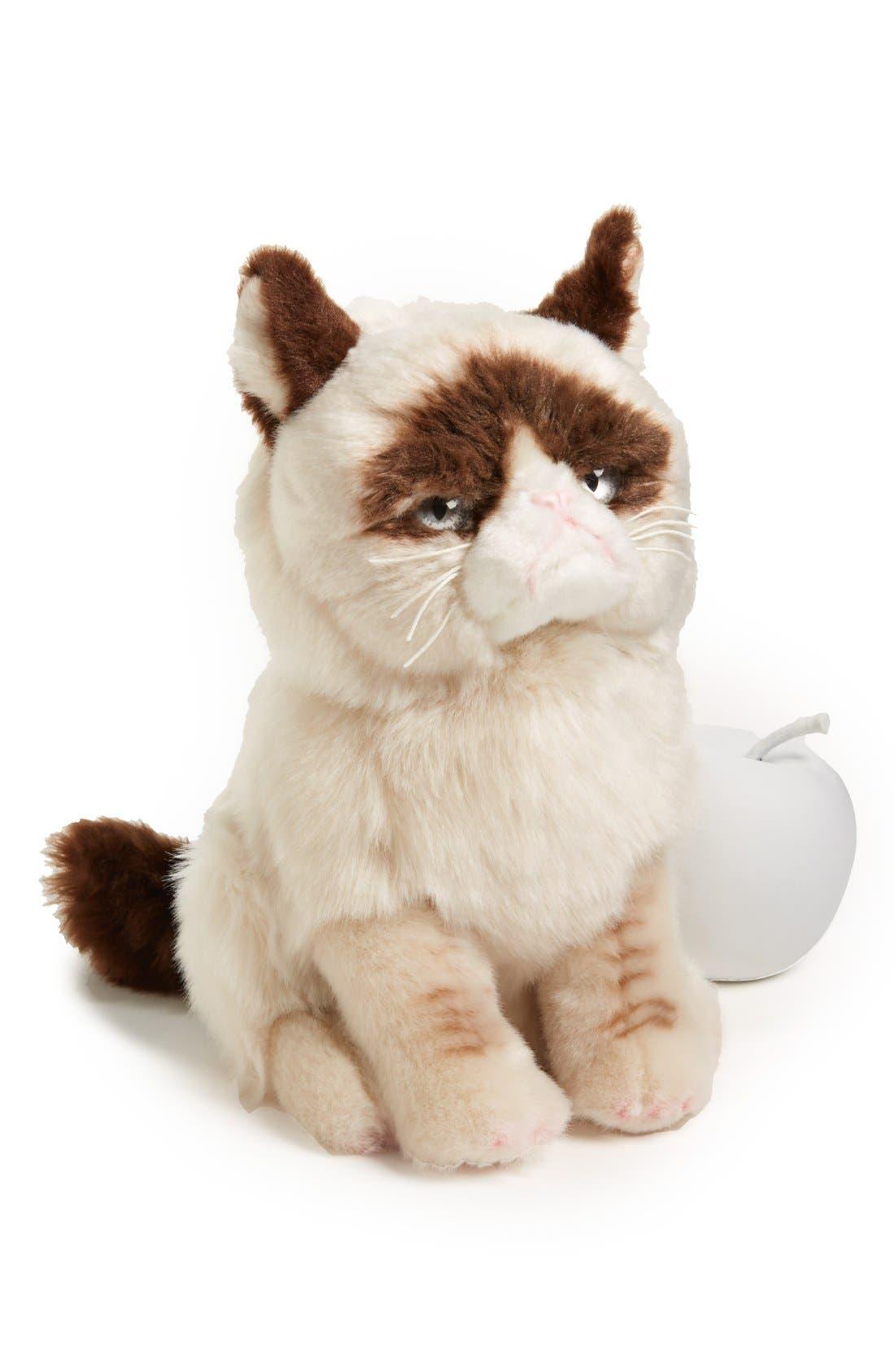 'Grumpy Cat' Stuffed Animal,                             Main thumbnail 1, color,                             000