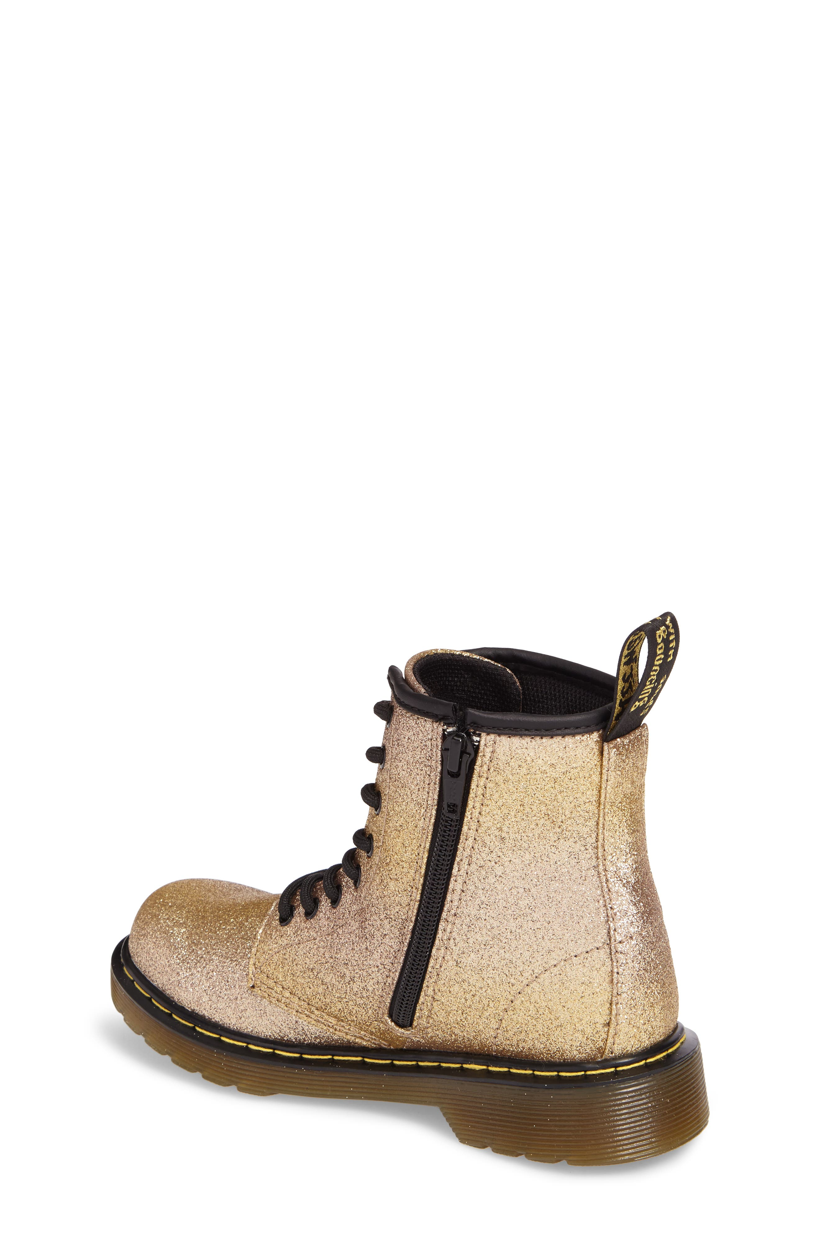 Delaney Glitter Boot,                             Alternate thumbnail 8, color,