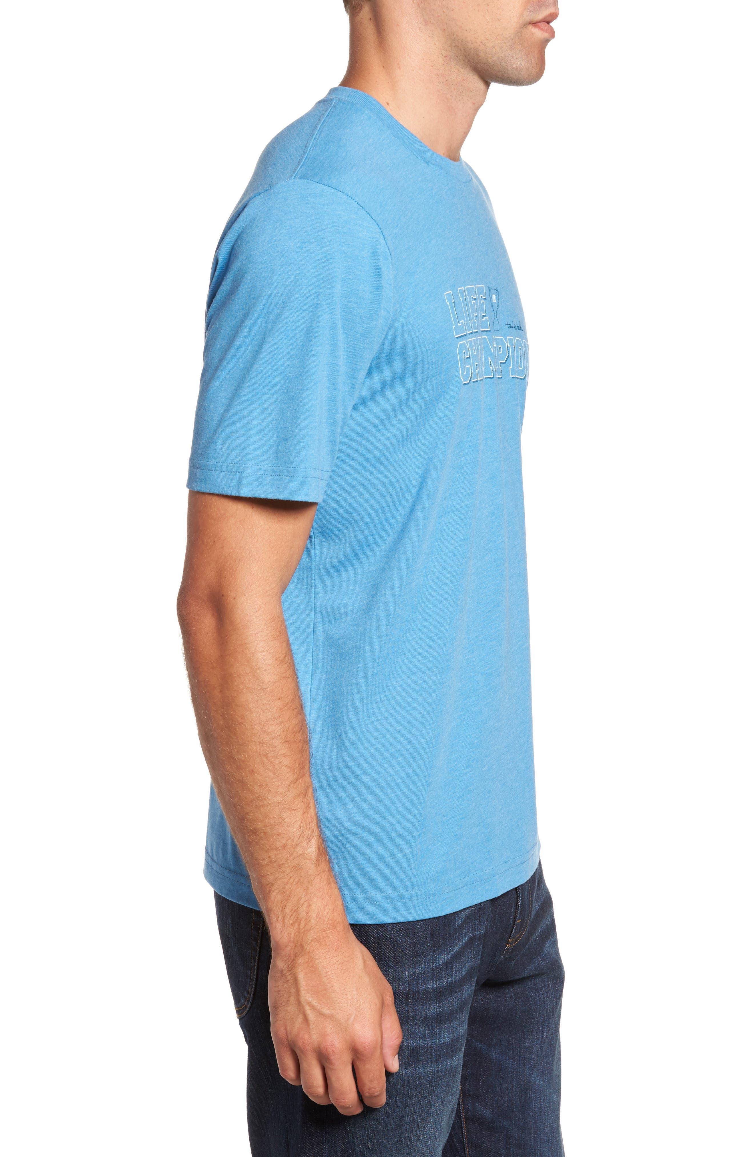 Life Champion Graphic T-Shirt,                             Alternate thumbnail 3, color,                             400