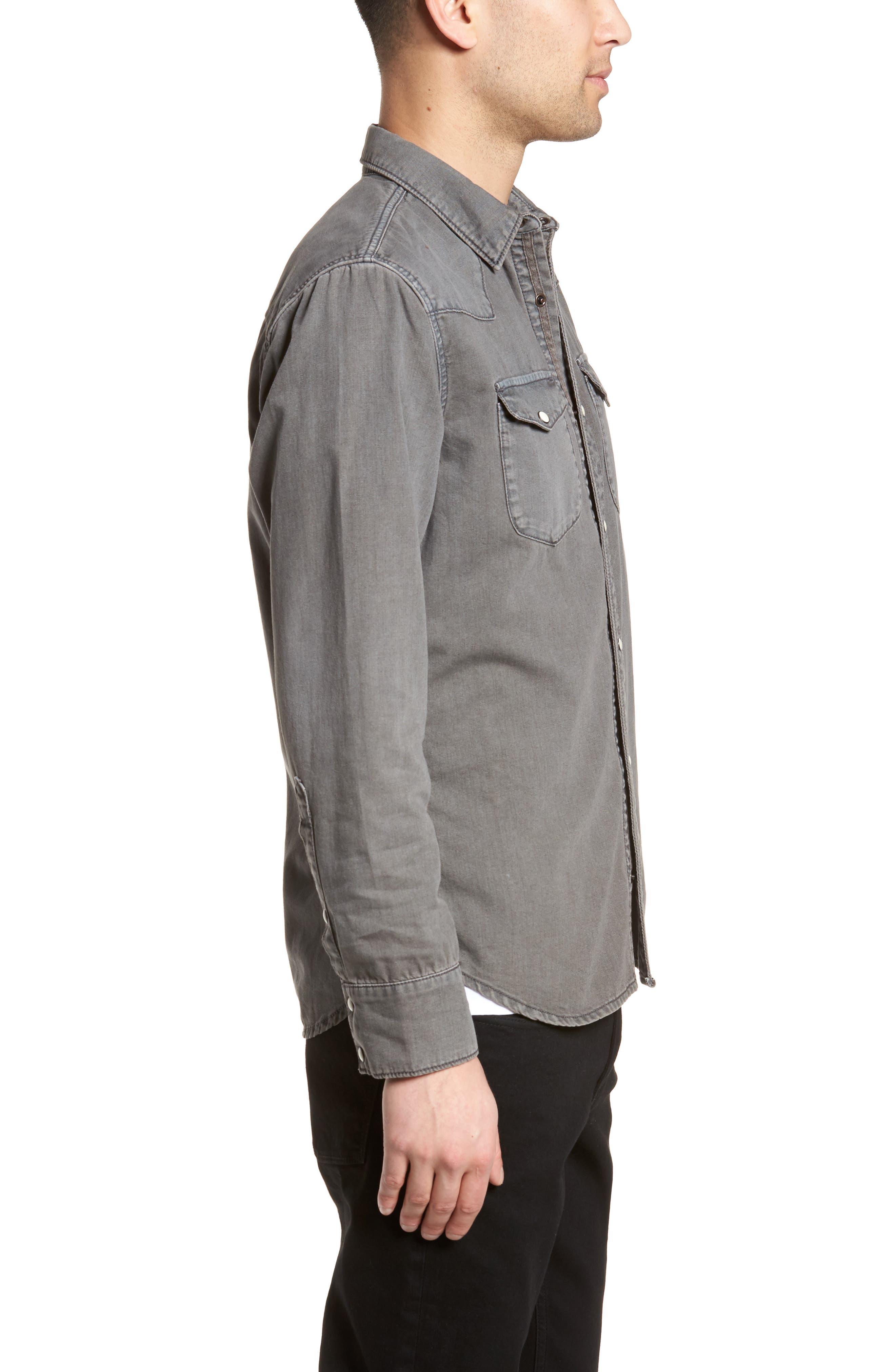 Core Western Shirt,                             Alternate thumbnail 3, color,                             050