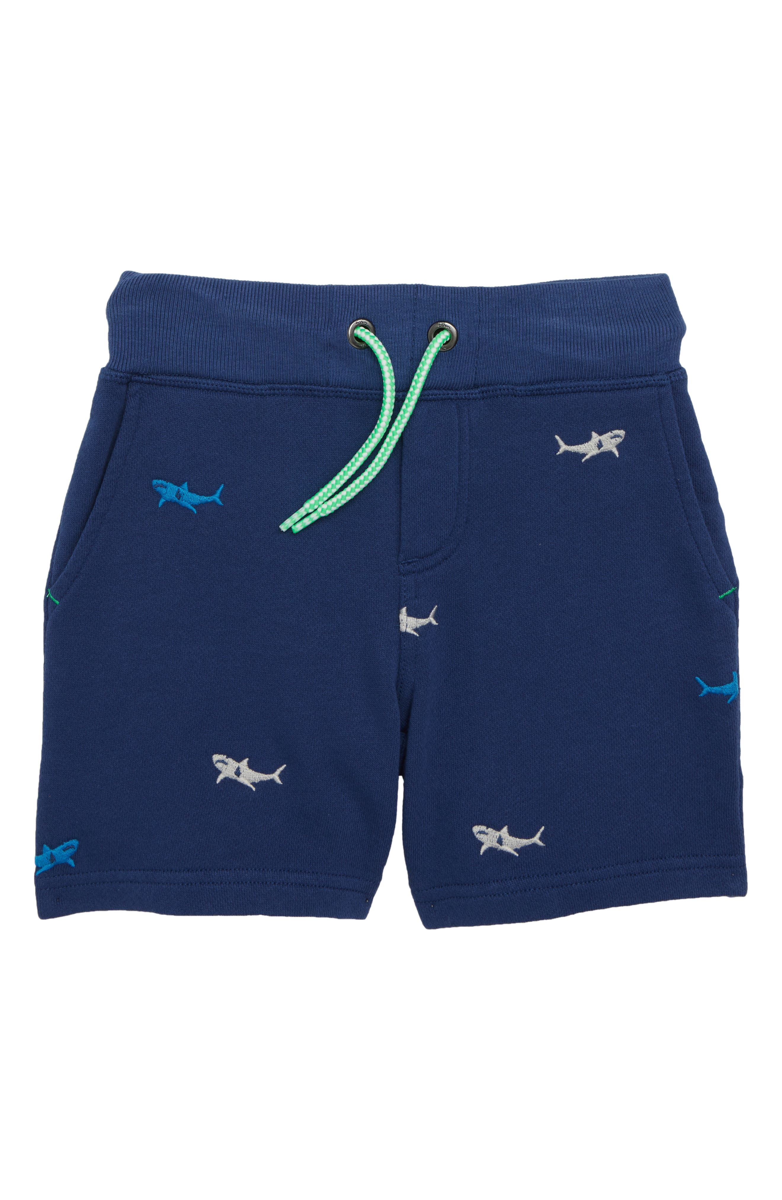 Embroidered Jersey Shorts,                             Main thumbnail 1, color,                             404