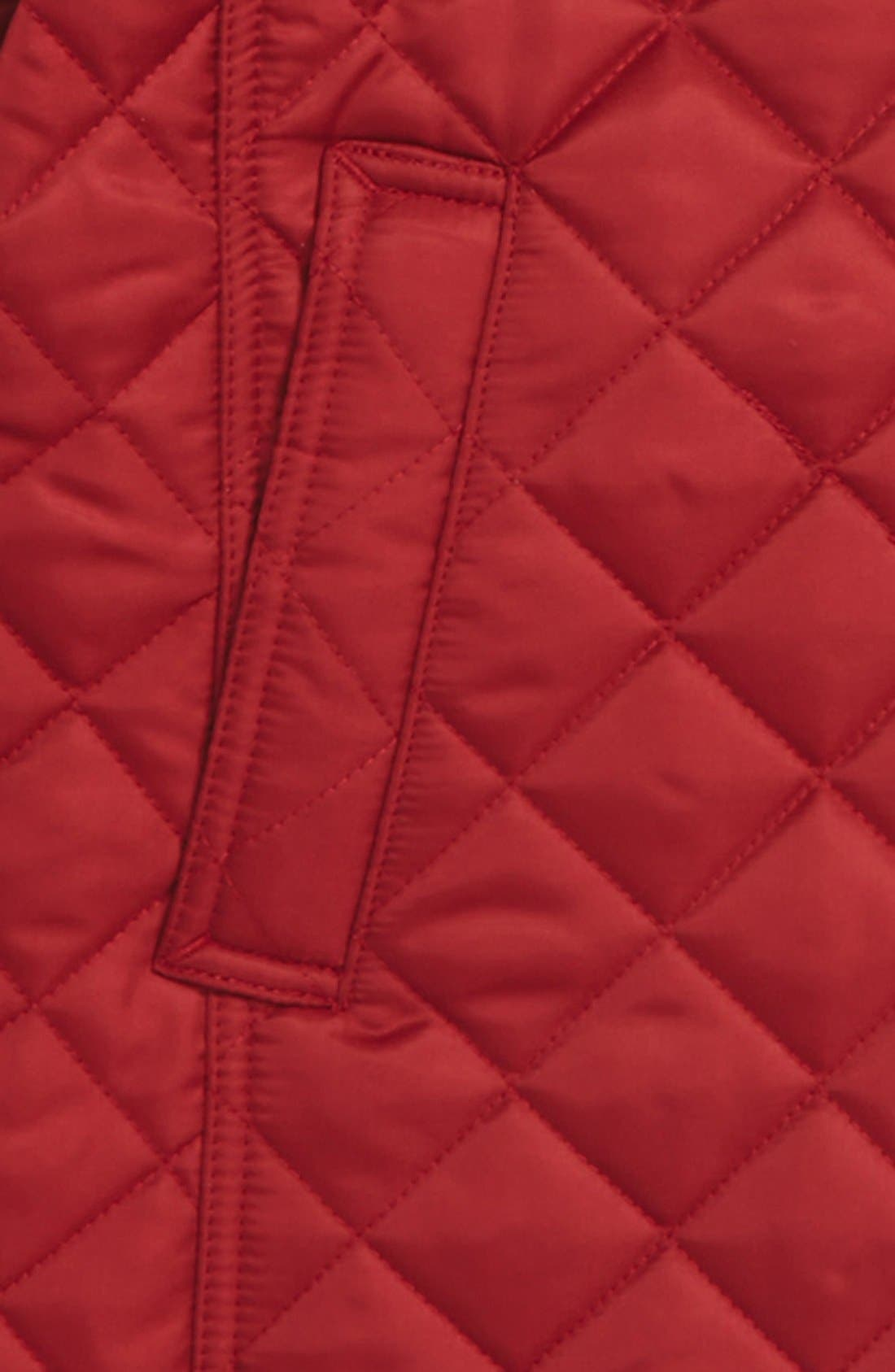 'Mini Ashurst' Quilted Jacket,                             Alternate thumbnail 2, color,