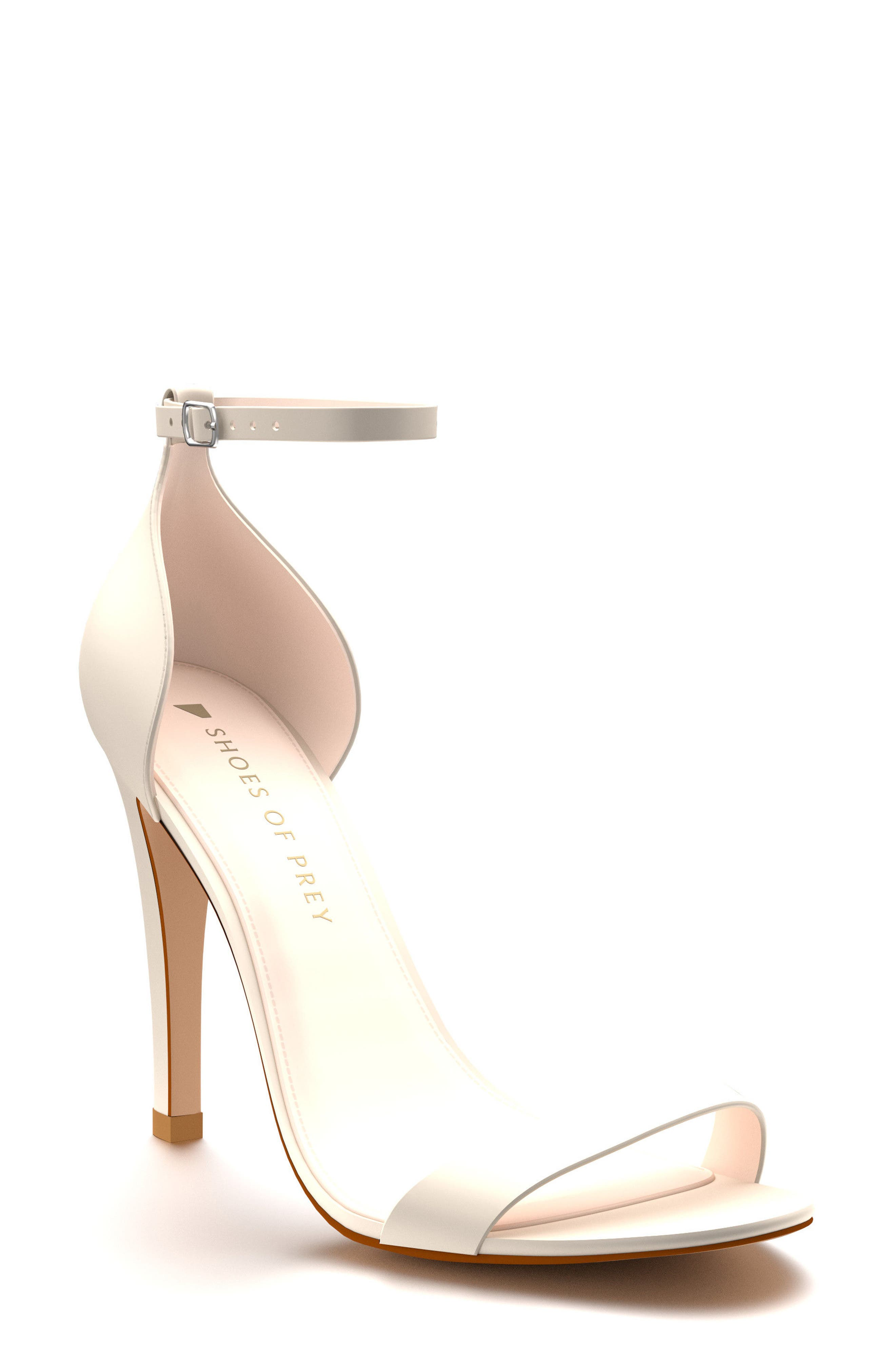 Ankle Strap Sandal,                             Main thumbnail 1, color,                             100