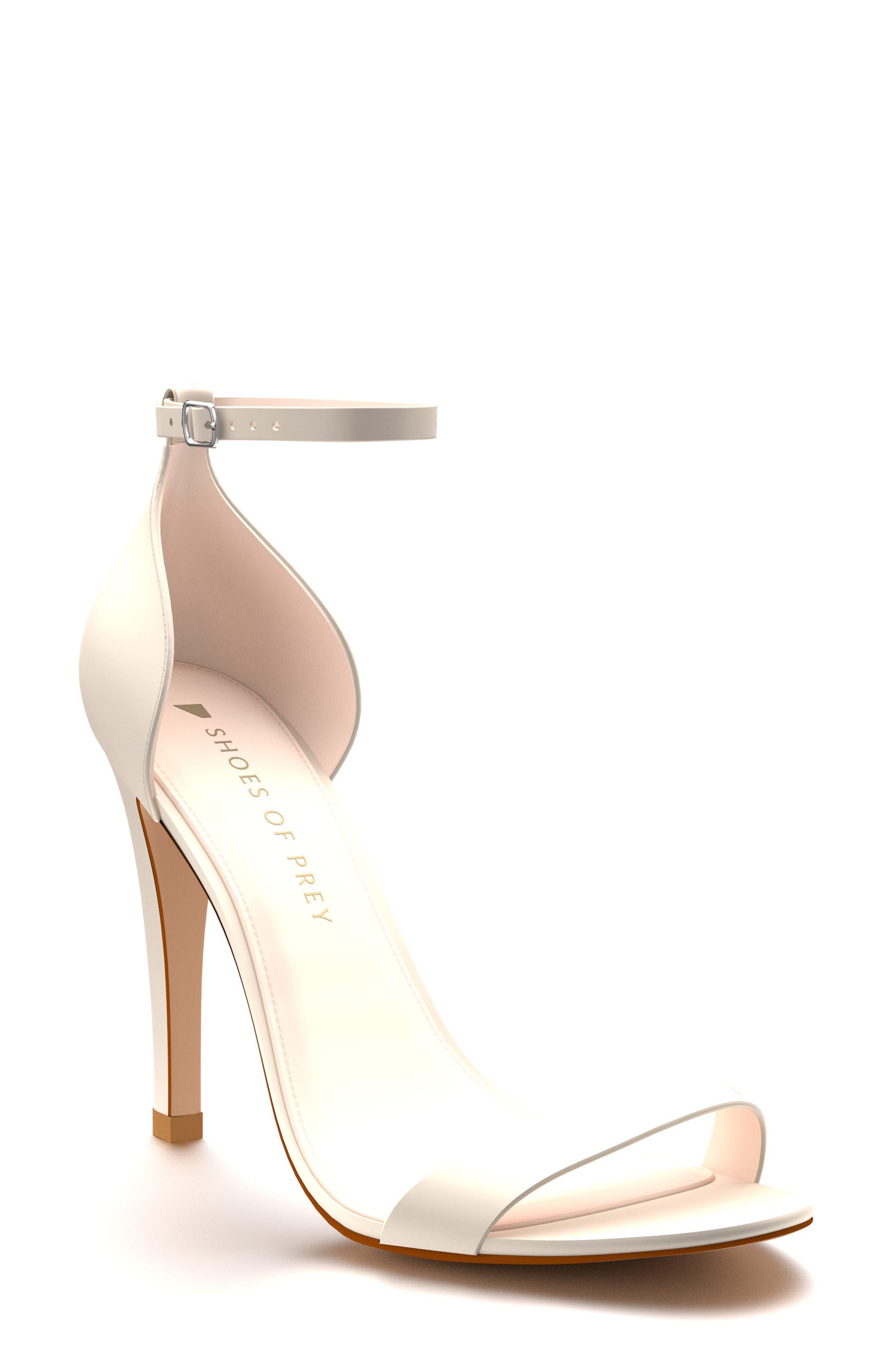 Ankle Strap Sandal,                         Main,                         color, 100