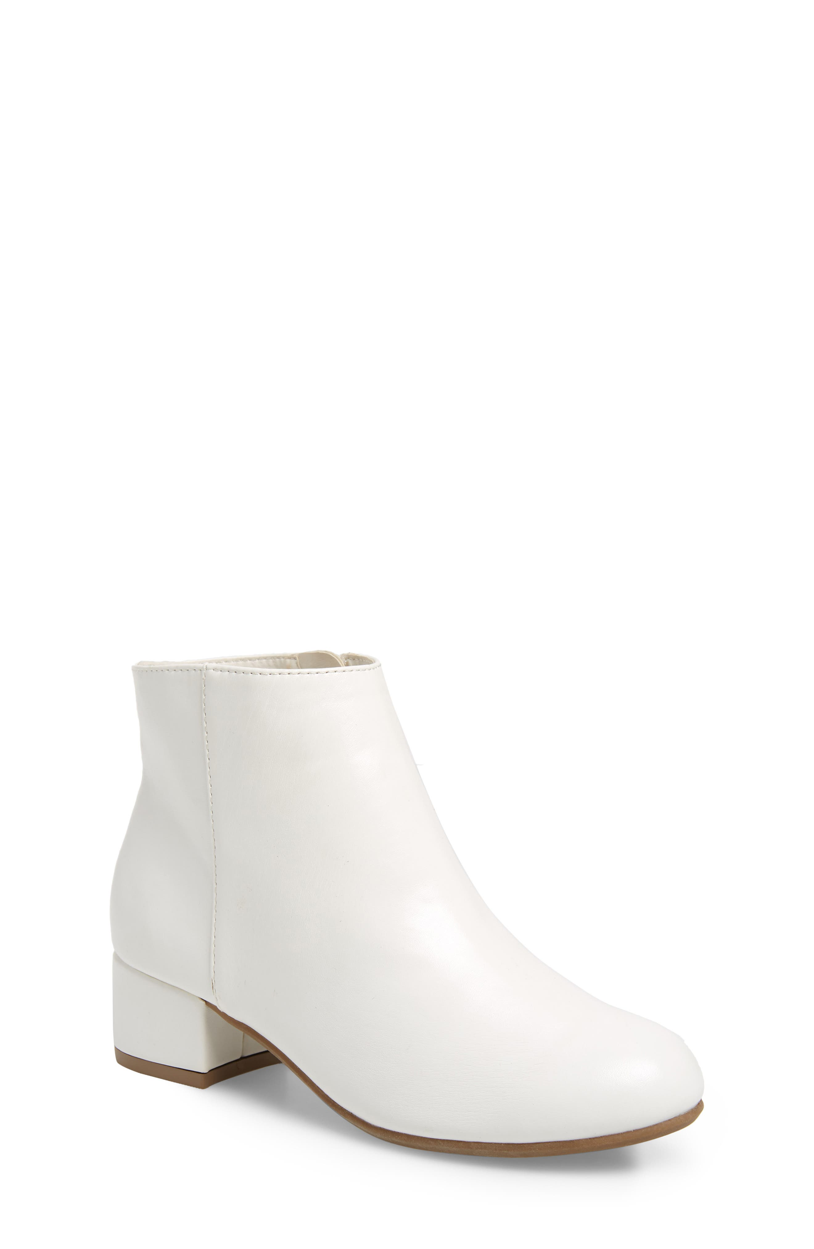 Editor Bootie,                         Main,                         color, WHITE