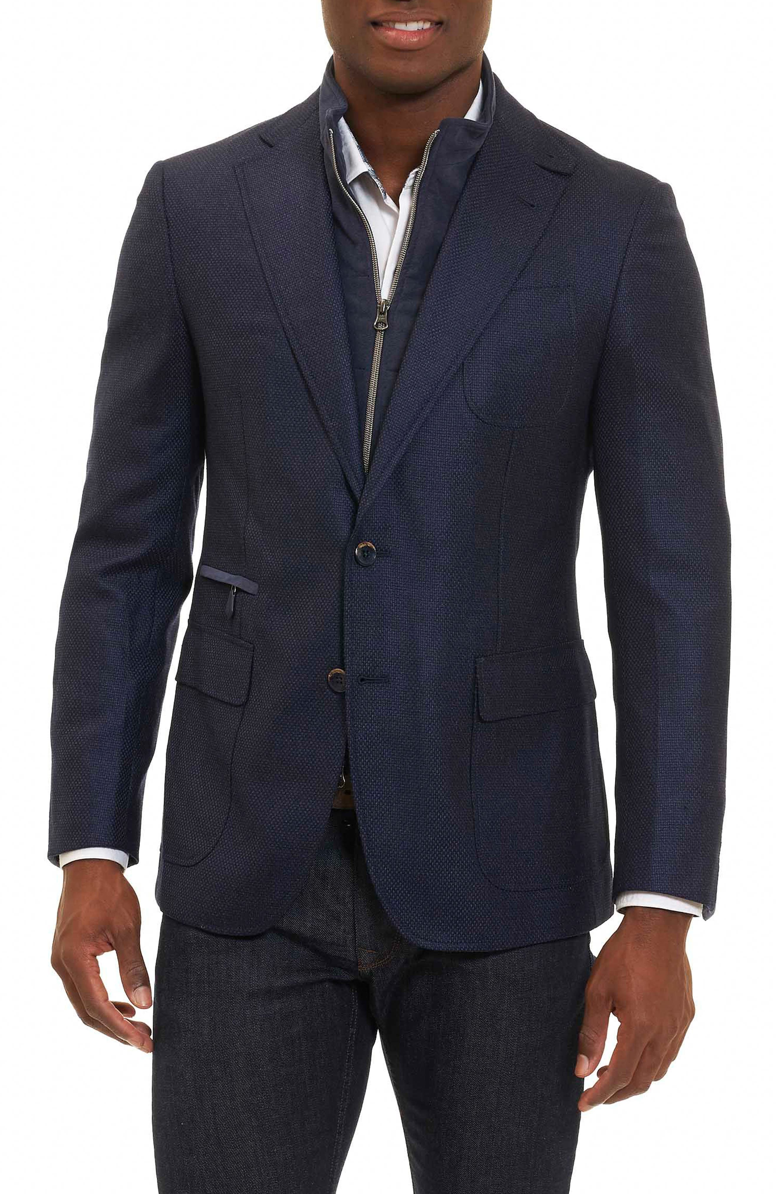 Downhill Sport Coat with Removable Bib,                             Main thumbnail 2, color,
