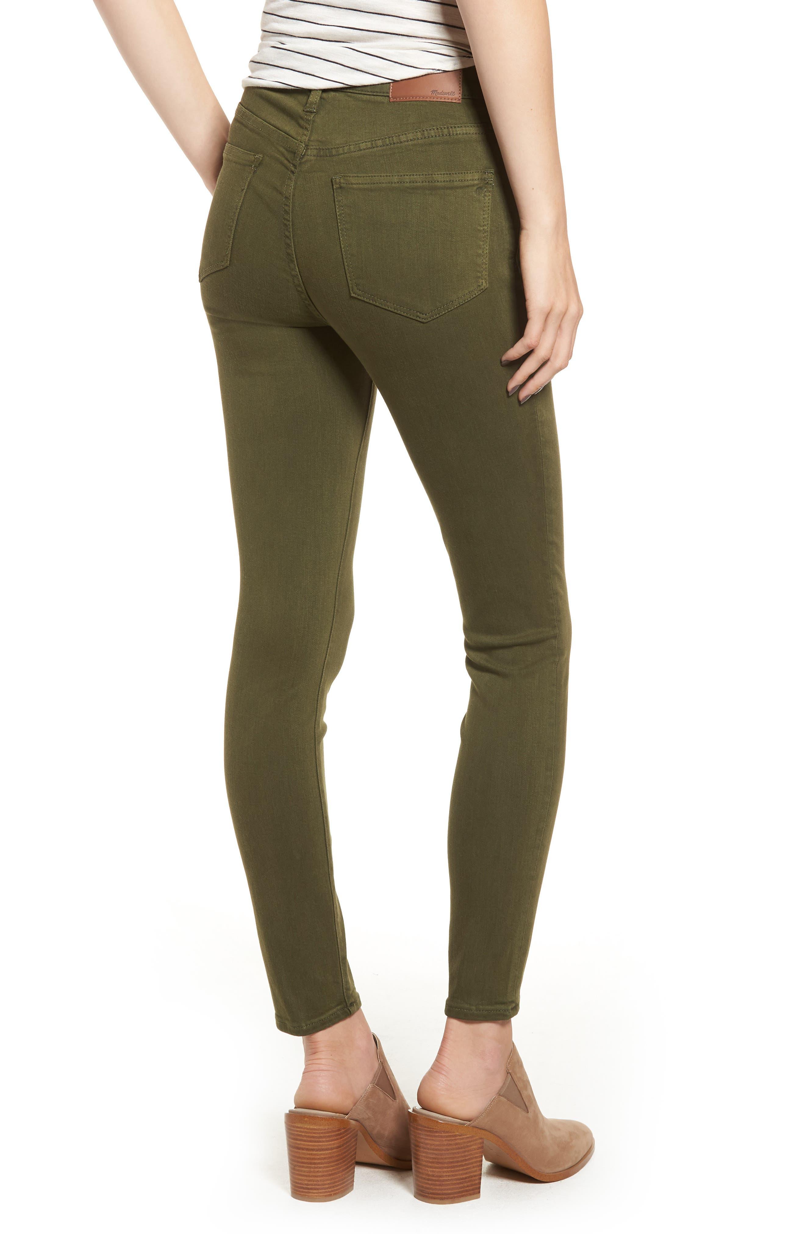 High Waist Skinny Jeans,                             Alternate thumbnail 2, color,                             300