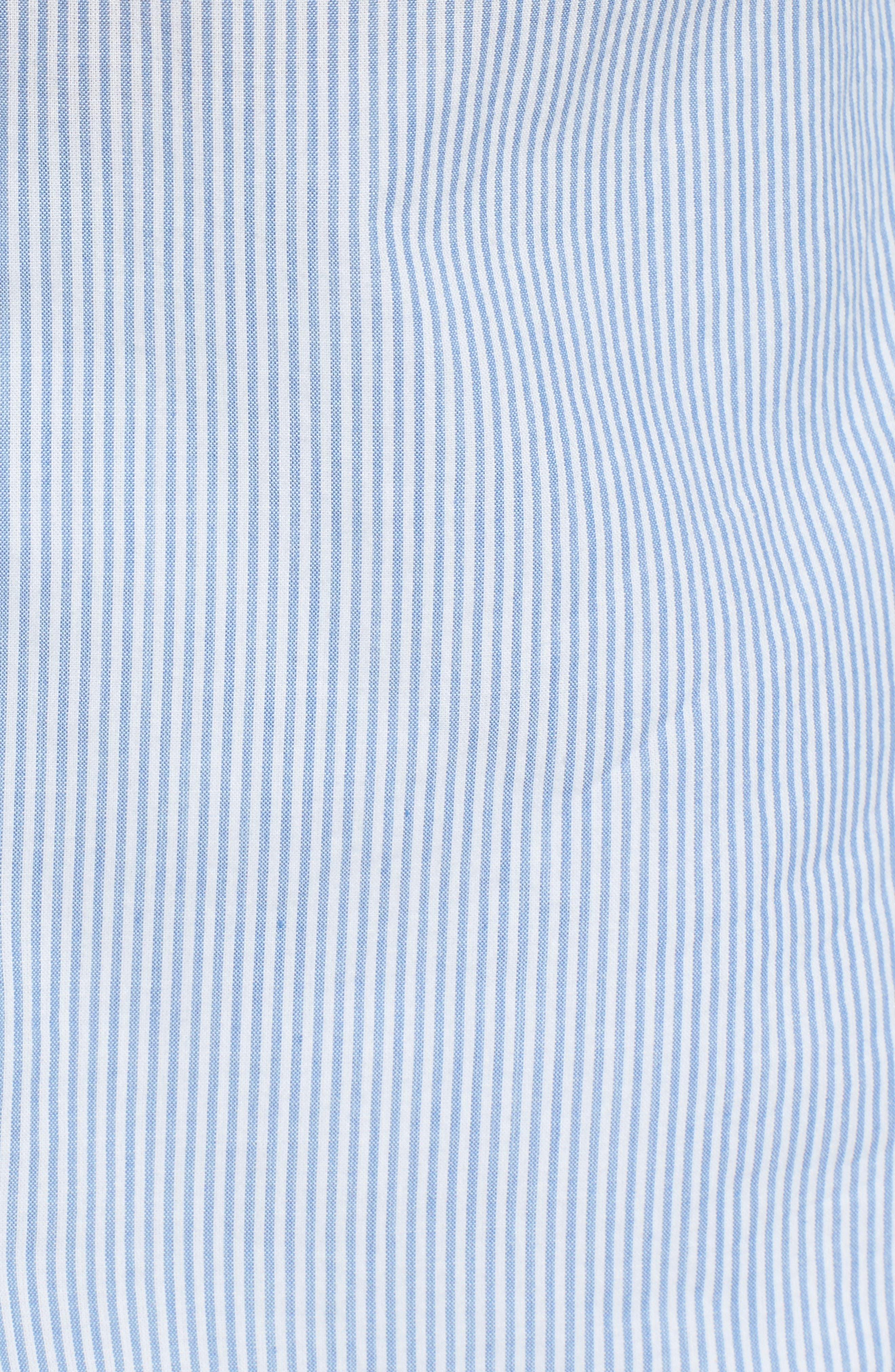 Portrait Collar Cotton Top,                             Alternate thumbnail 5, color,                             450