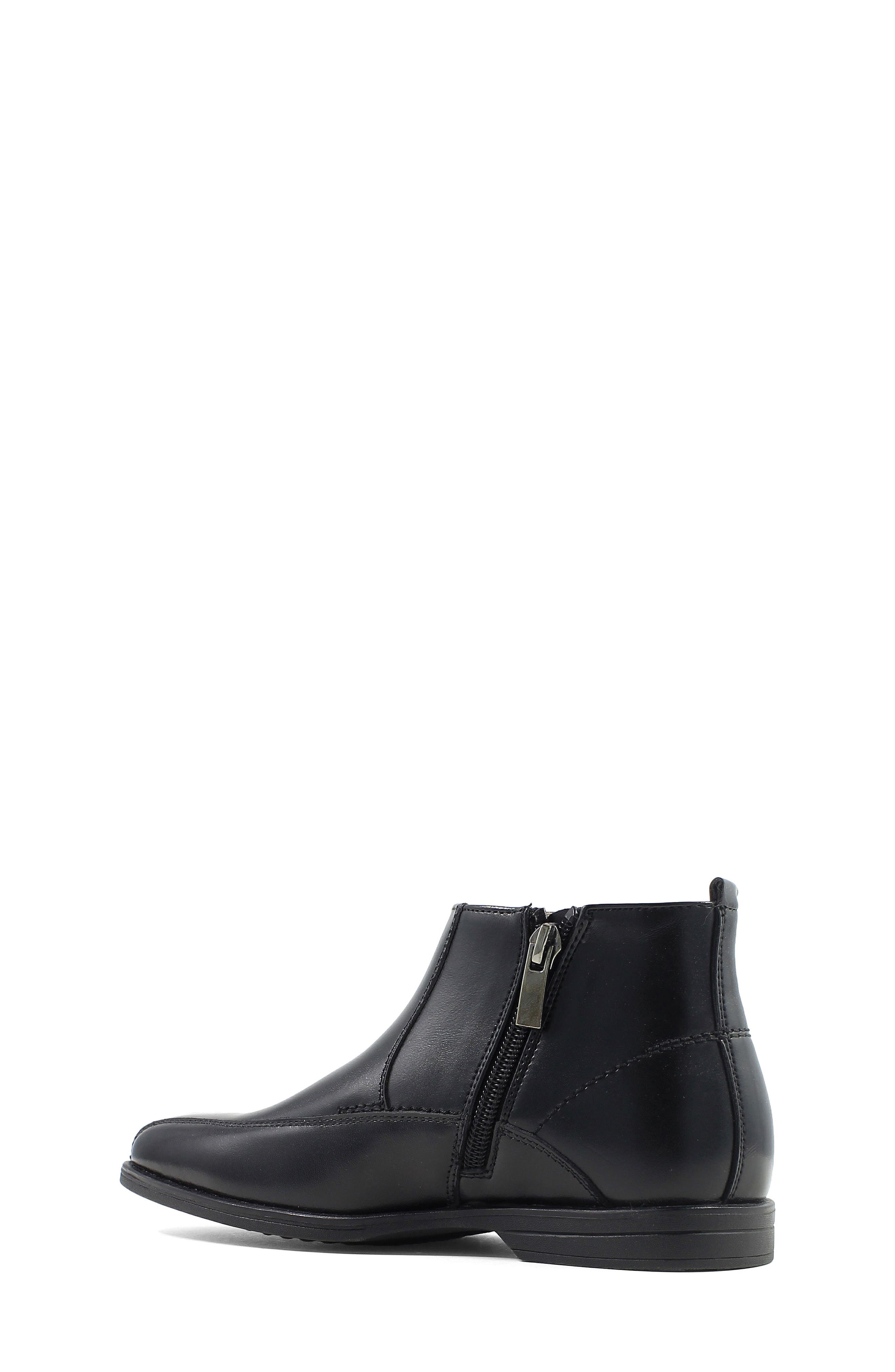 Reveal Chelsea Boot,                             Alternate thumbnail 3, color,                             BLACK