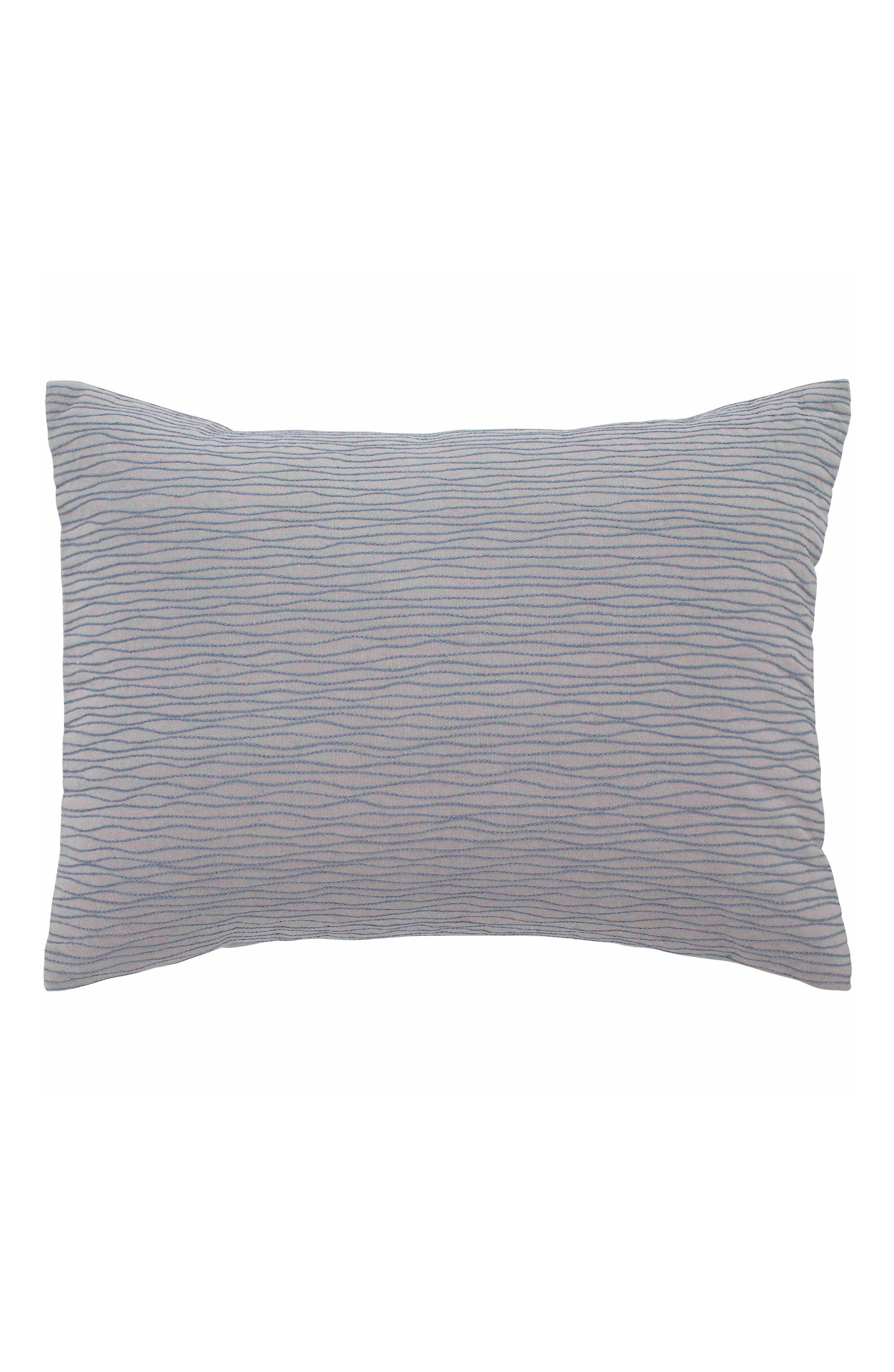 ED ELLEN DEGENERES Soledad Accent Pillow, Main, color, GREY WAVES