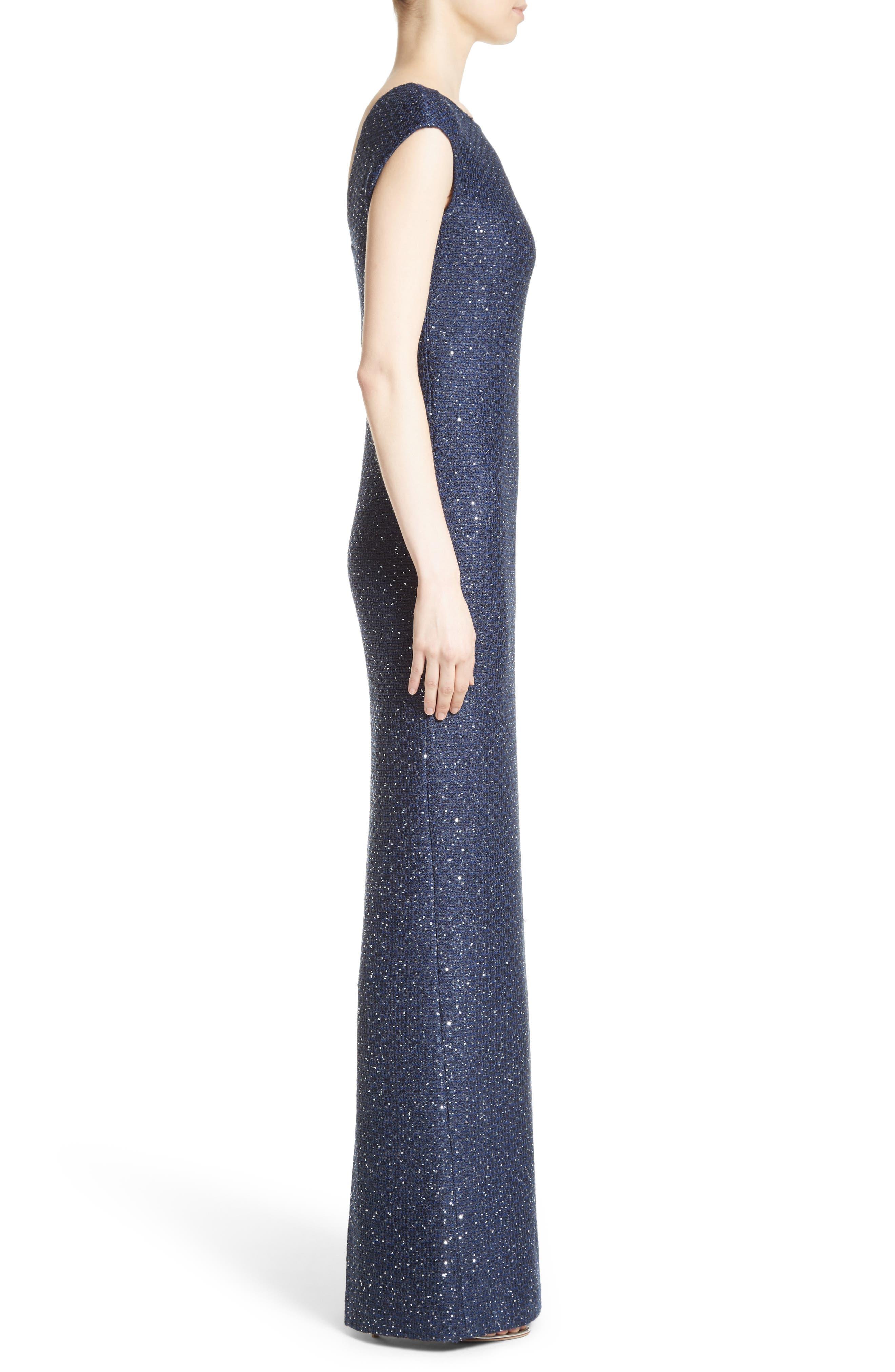 Sequin Gown,                             Alternate thumbnail 3, color,                             420