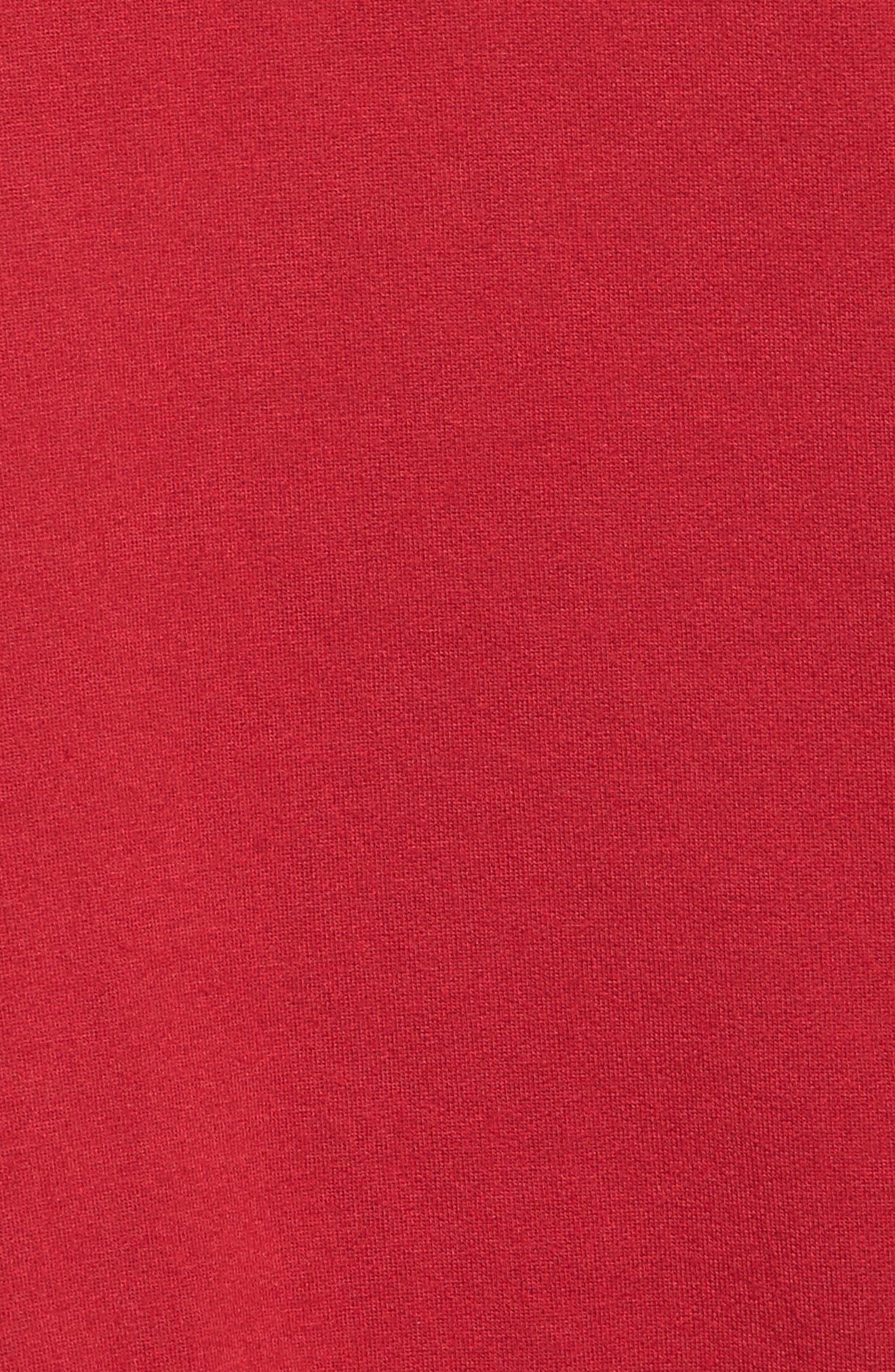 Stripe Sleeve Hoodie,                             Alternate thumbnail 10, color,