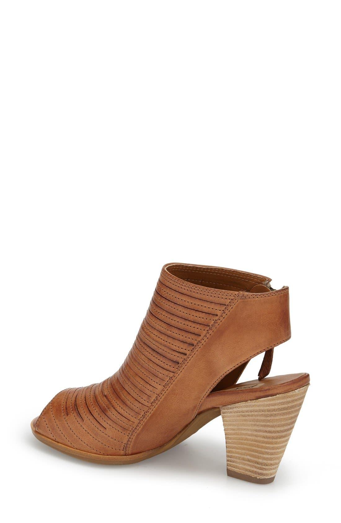 'Cayanne' Leather Peep Toe Sandal,                             Alternate thumbnail 13, color,
