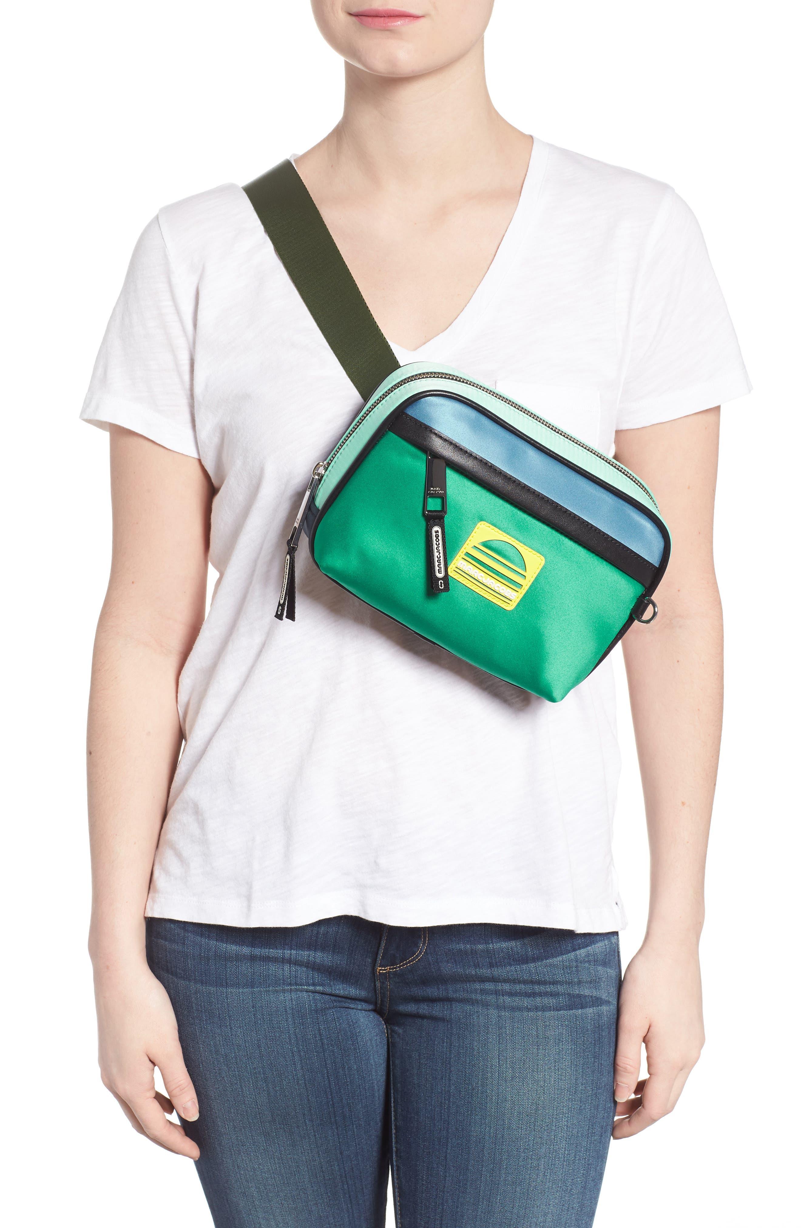 Sport Colorblock Belt Bag,                             Alternate thumbnail 3, color,                             332