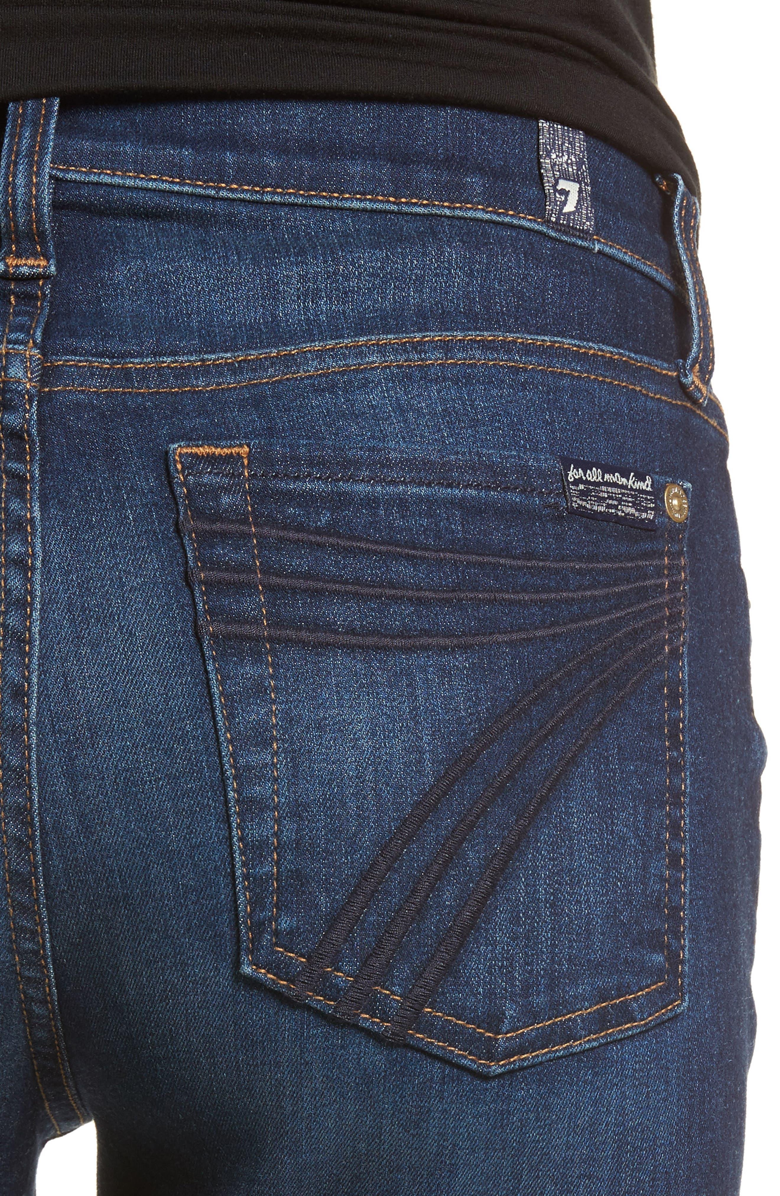 Dojo Wide Leg Jeans,                             Alternate thumbnail 4, color,                             MORENO