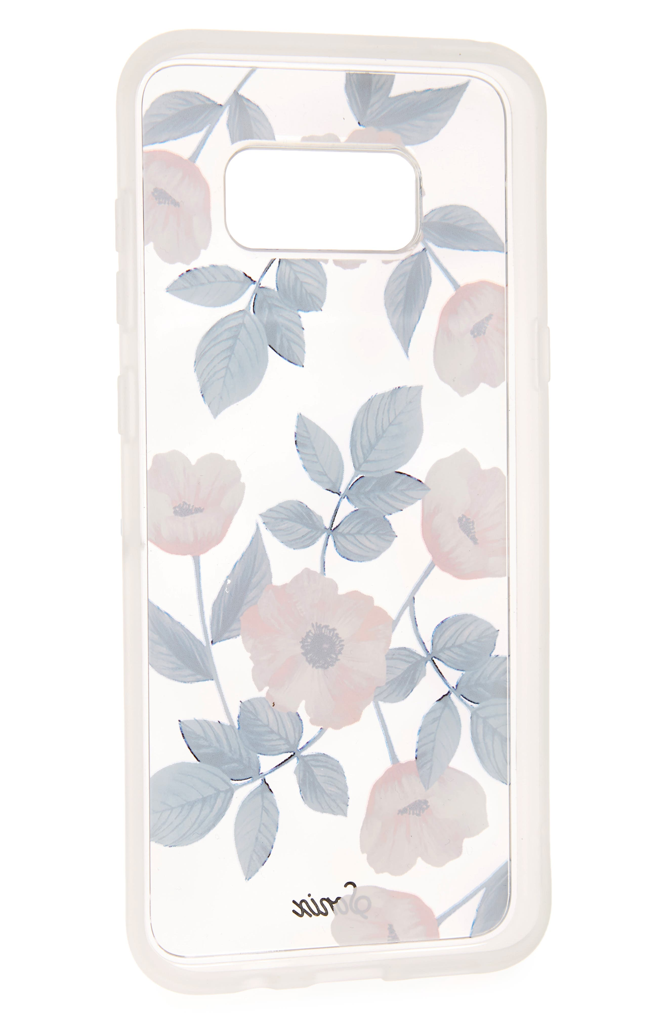 Floral Samsung Galaxy S8 and Galaxy S8 Plus Case,                             Alternate thumbnail 3, color,                             100
