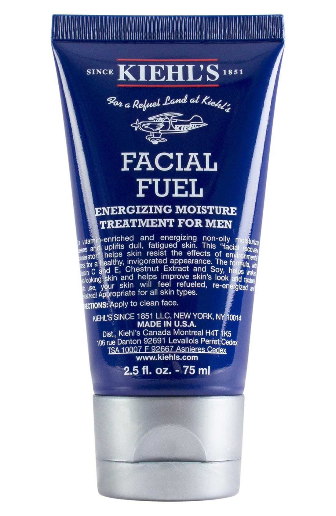 'Facial Fuel' Energizing Moisture Treatment for Men,                             Main thumbnail 1, color,                             000