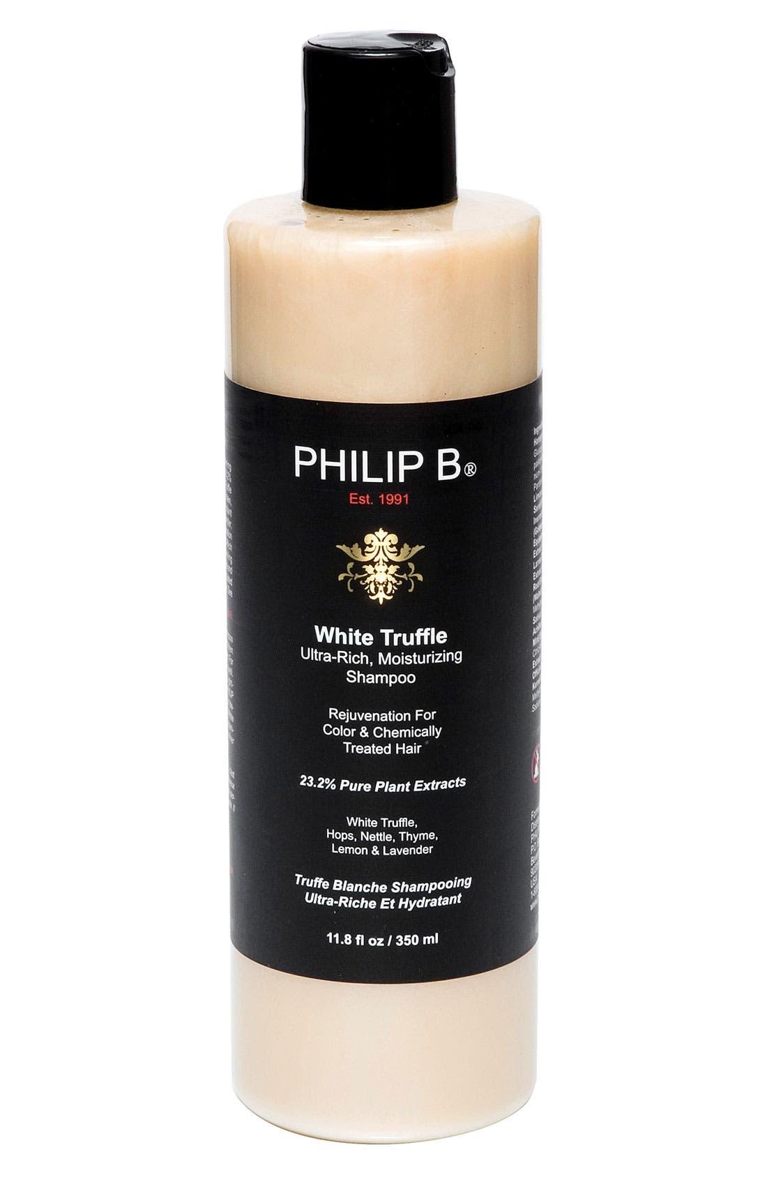 SPACE.NK.apothecary PHILIP B<sup>®</sup> White Truffle Ultra Rich Moisturizing Shampoo,                             Main thumbnail 1, color,                             000
