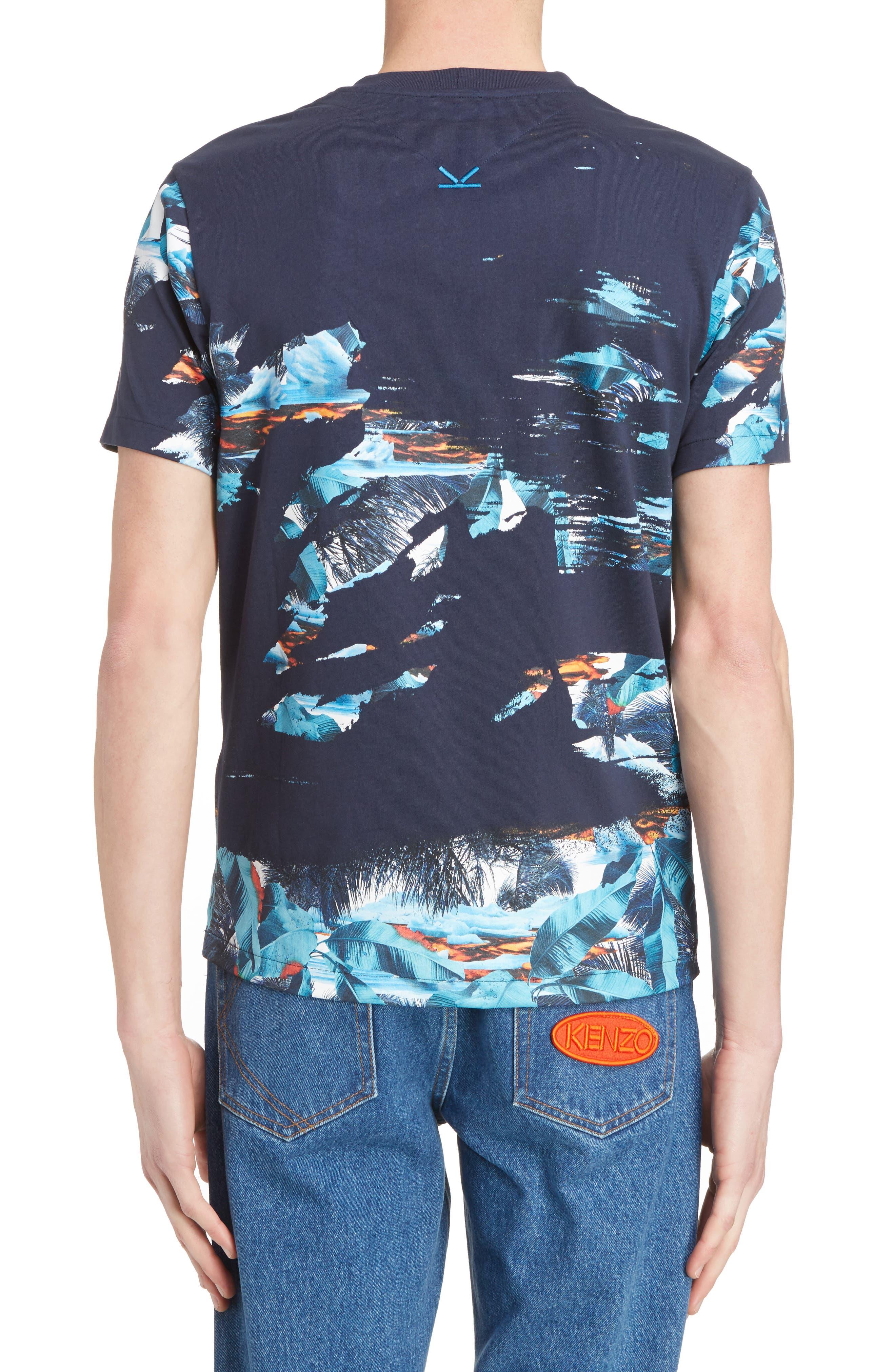 Abstract Landscape T-Shirt,                             Alternate thumbnail 2, color,