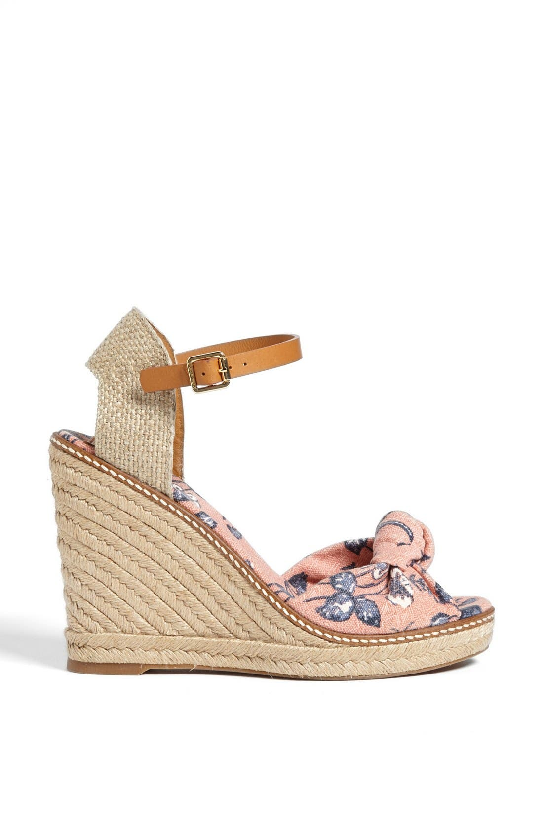 'Macy' Wedge Espadrille,                             Alternate thumbnail 4, color,                             650