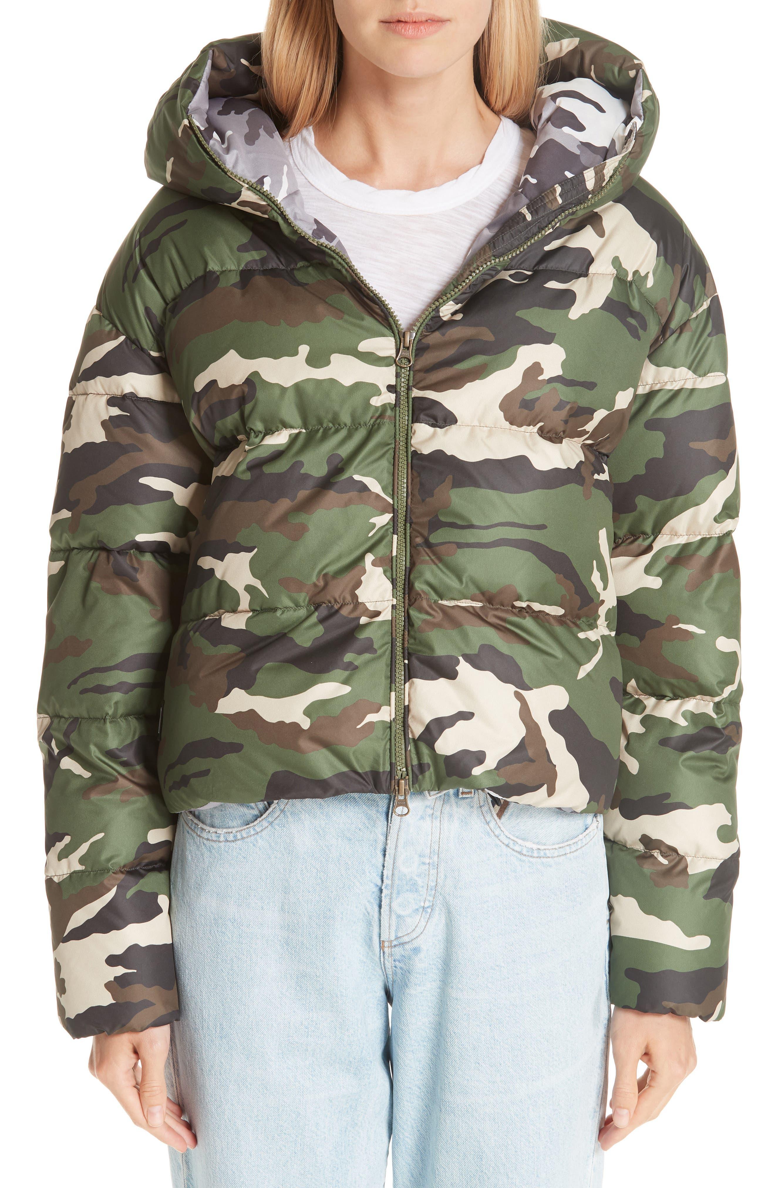 Cloud Camo Down Puffer Jacket, Main, color, 300