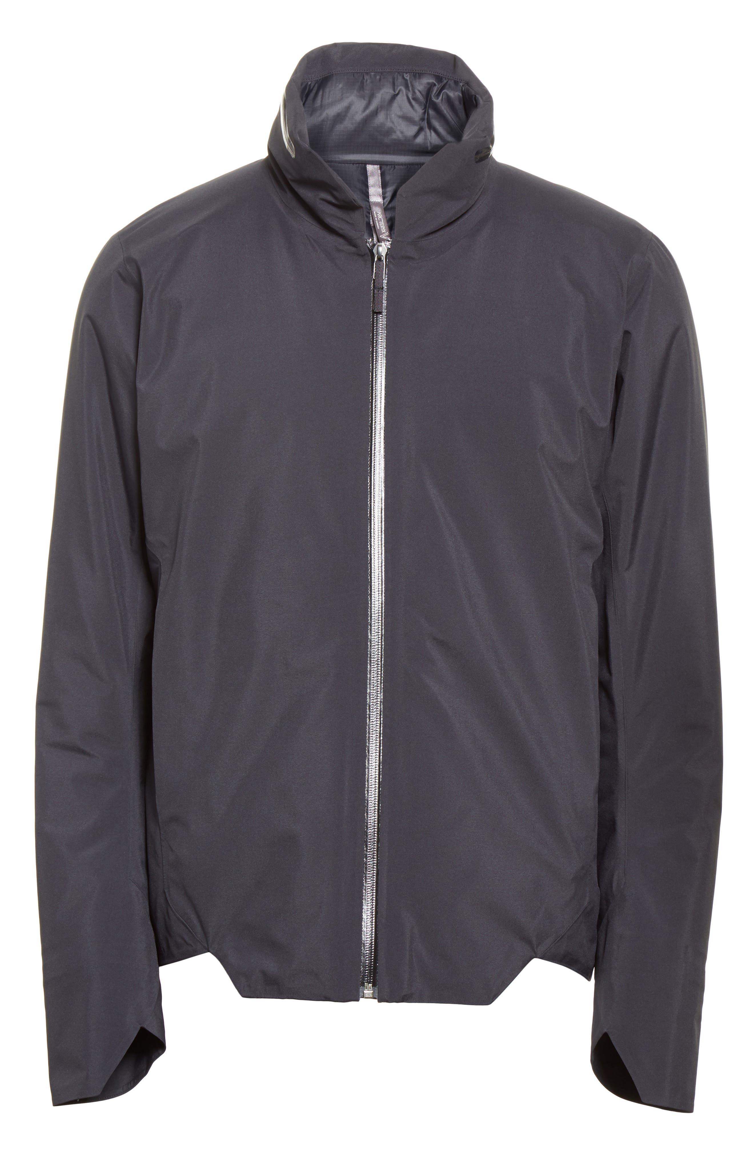 Achrom Waterproof Jacket,                             Alternate thumbnail 5, color,                             001