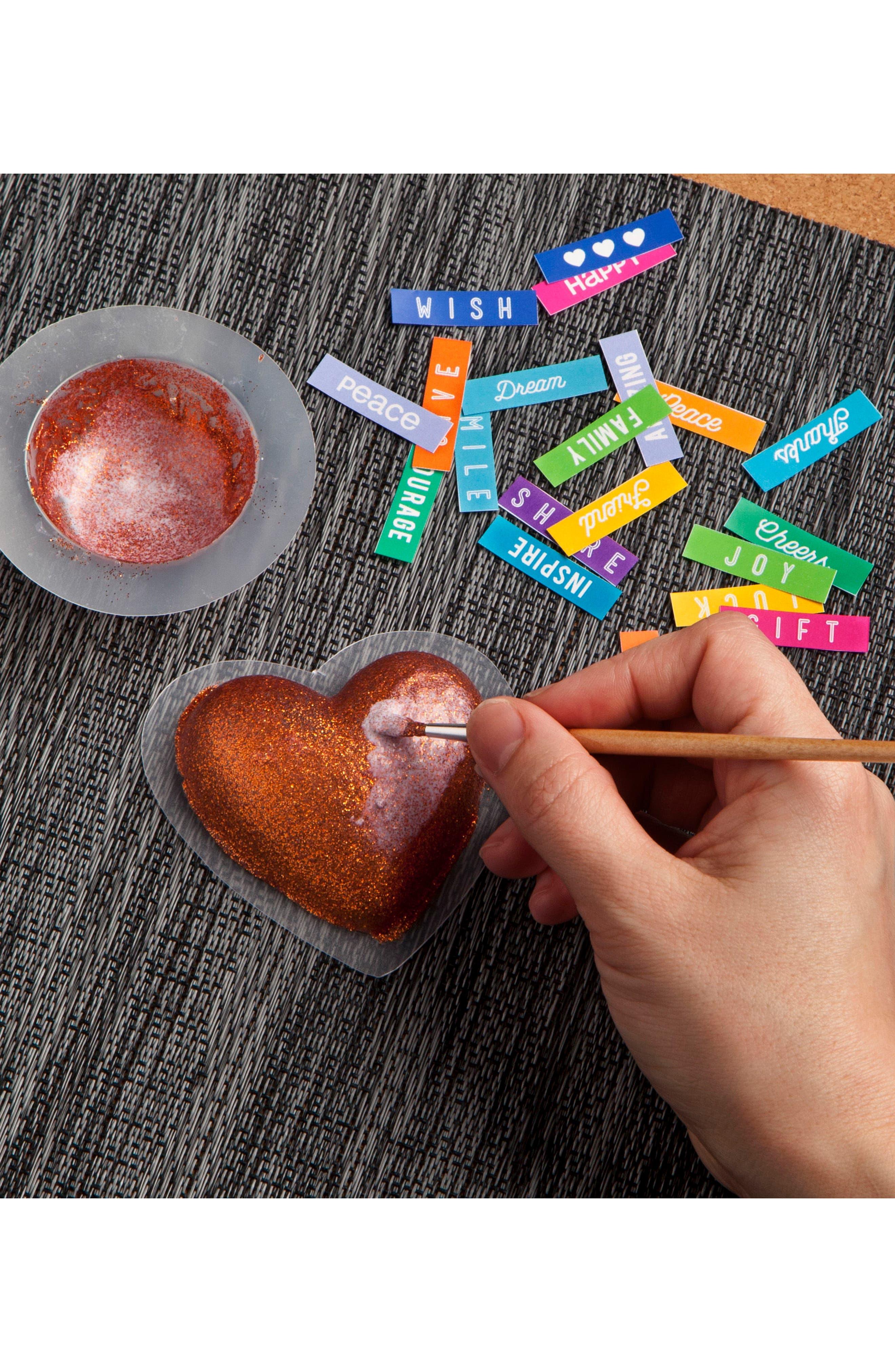 Make & Give Heart Bowls Craft Kit,                             Alternate thumbnail 3, color,                             100