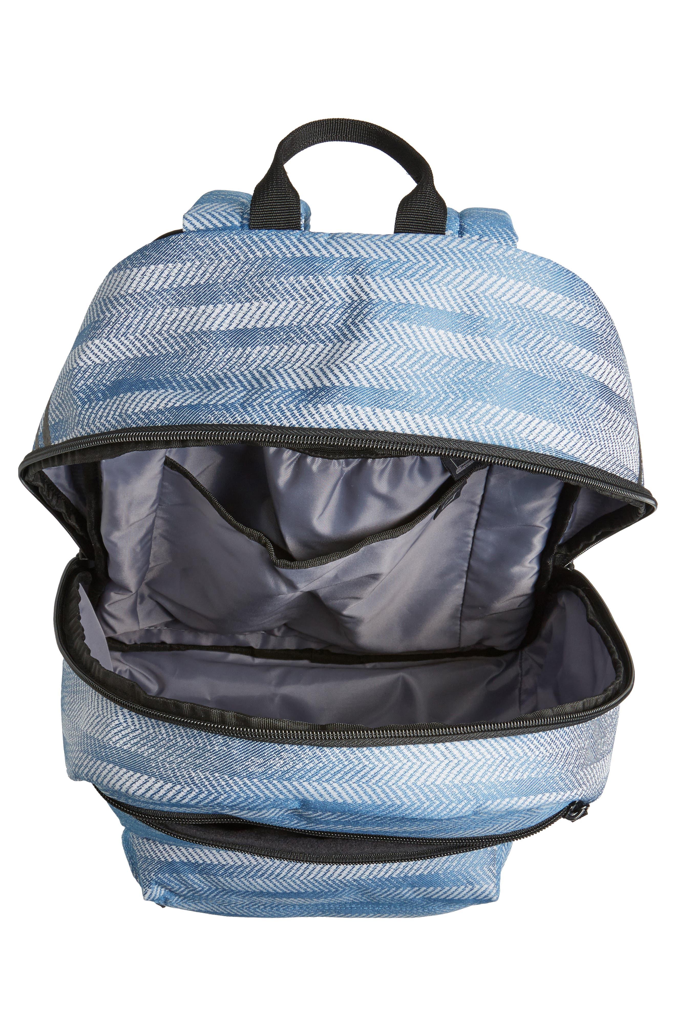 NTL Plus Backpack,                             Alternate thumbnail 4, color,                             CORE BLUE/ BLACK