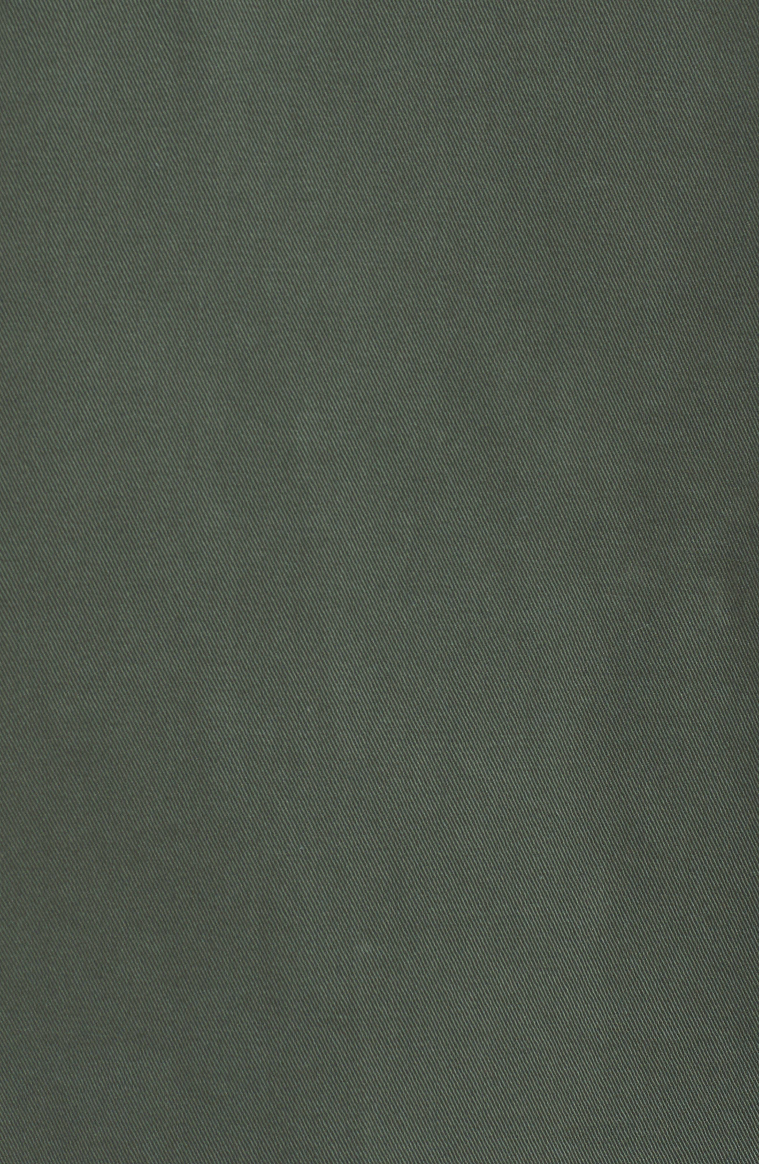 Cotton Shirt Jacket,                             Alternate thumbnail 7, color,                             OLIVE