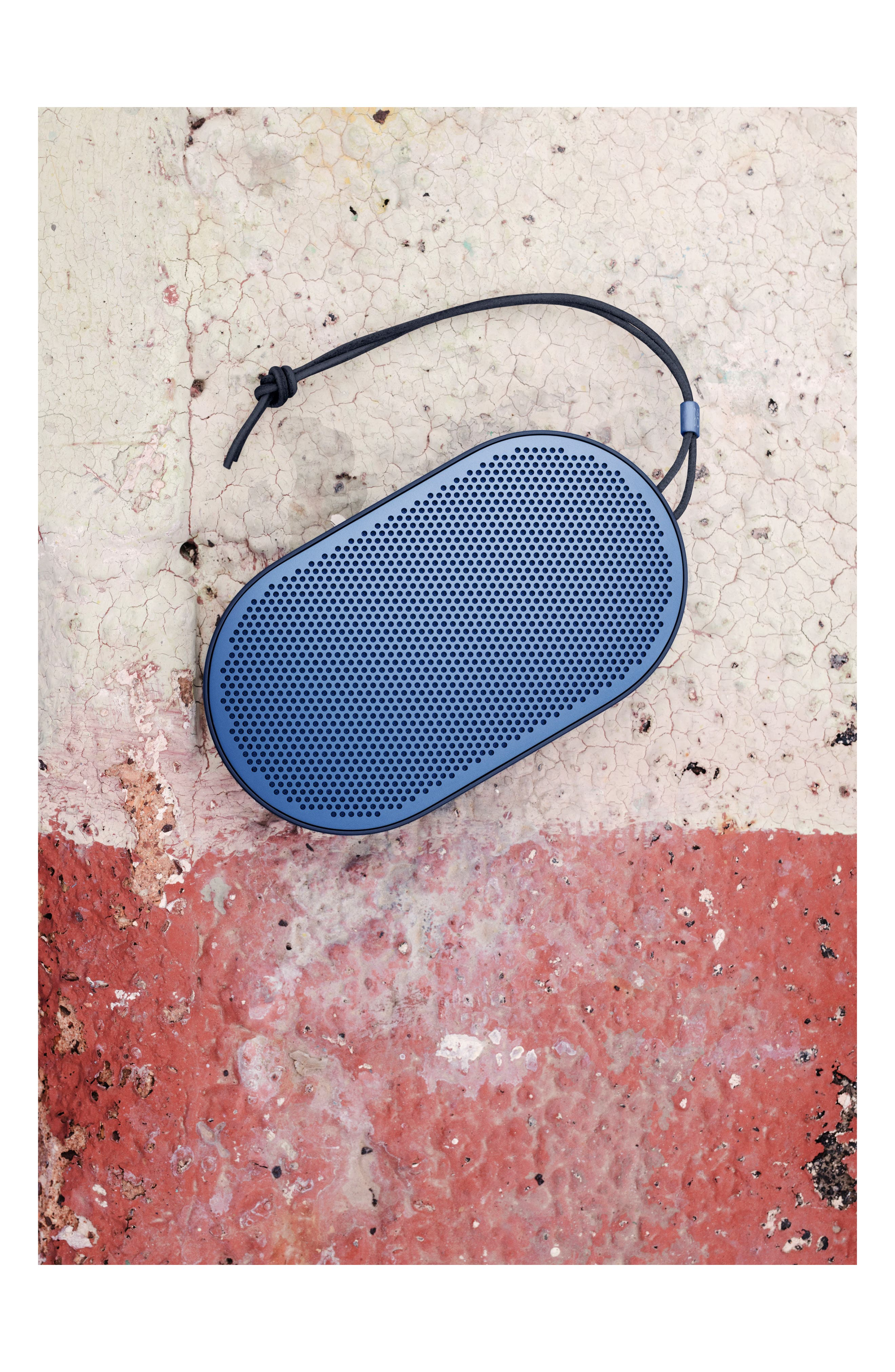 Beoplay P2 Portable Bluetooth<sup>®</sup> Speaker,                             Alternate thumbnail 7, color,                             BLUE