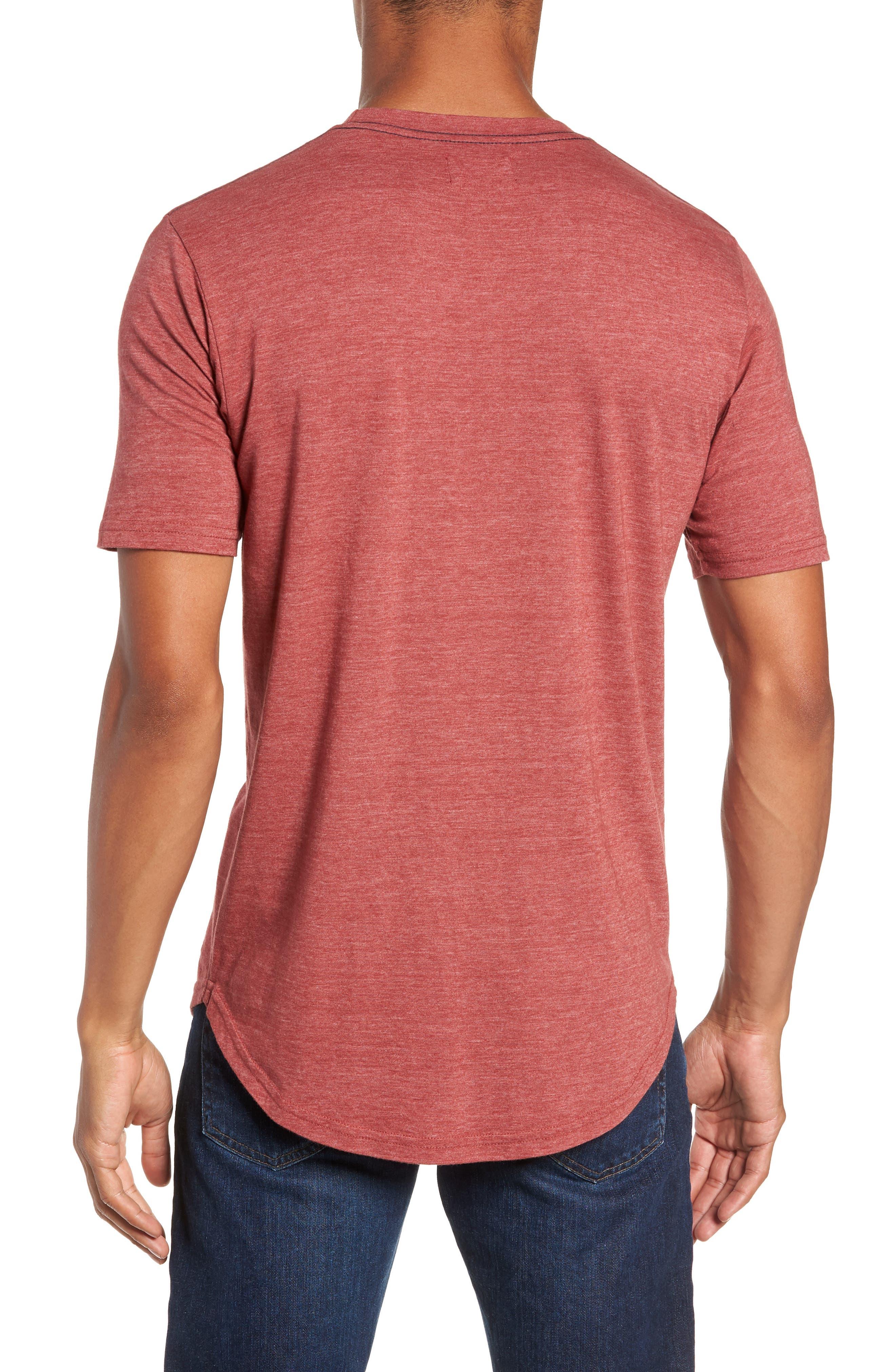 Scallop Triblend Crewneck T-Shirt,                             Alternate thumbnail 36, color,