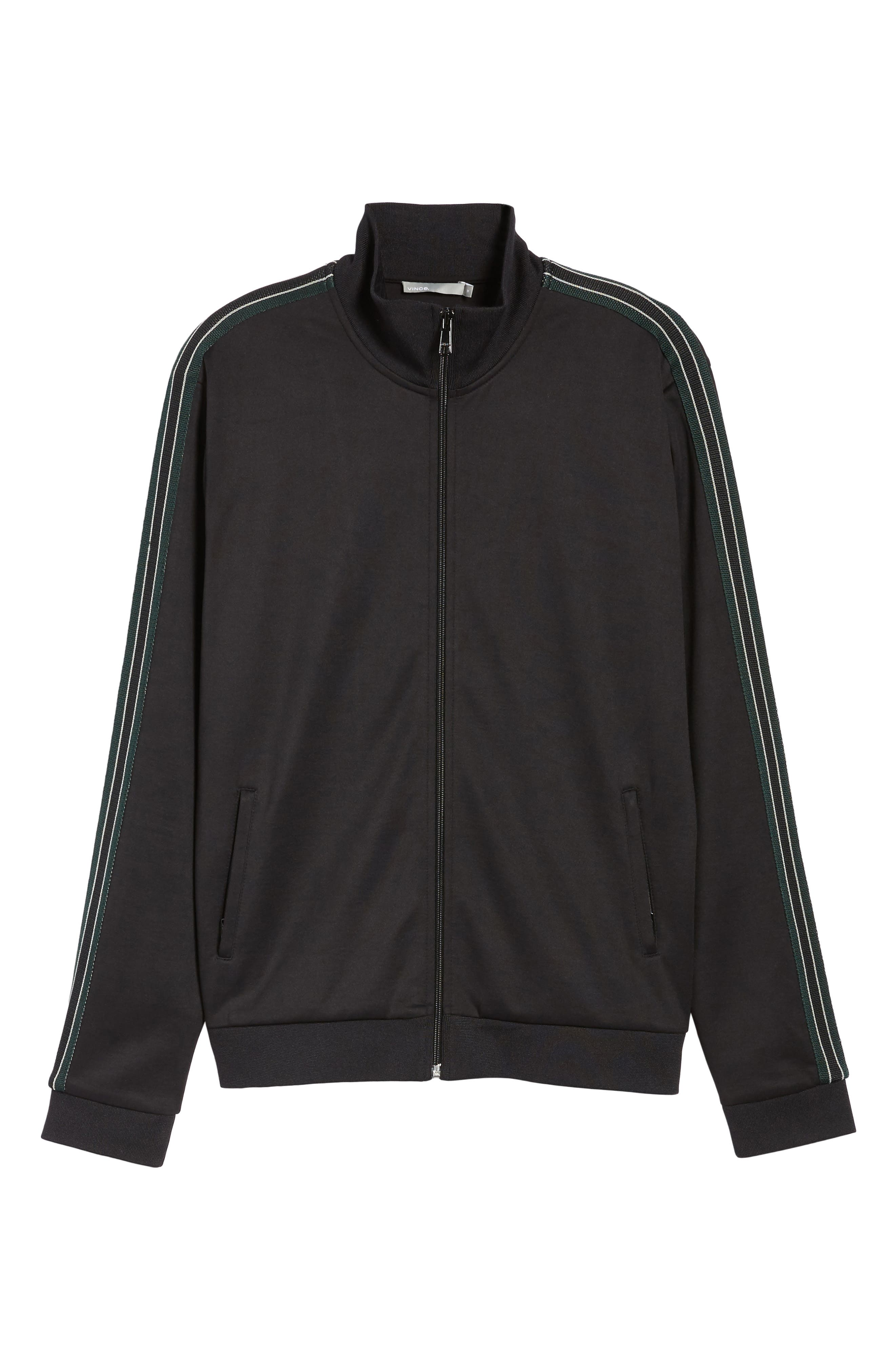 Regular Fit Track Jacket,                             Alternate thumbnail 7, color,                             001