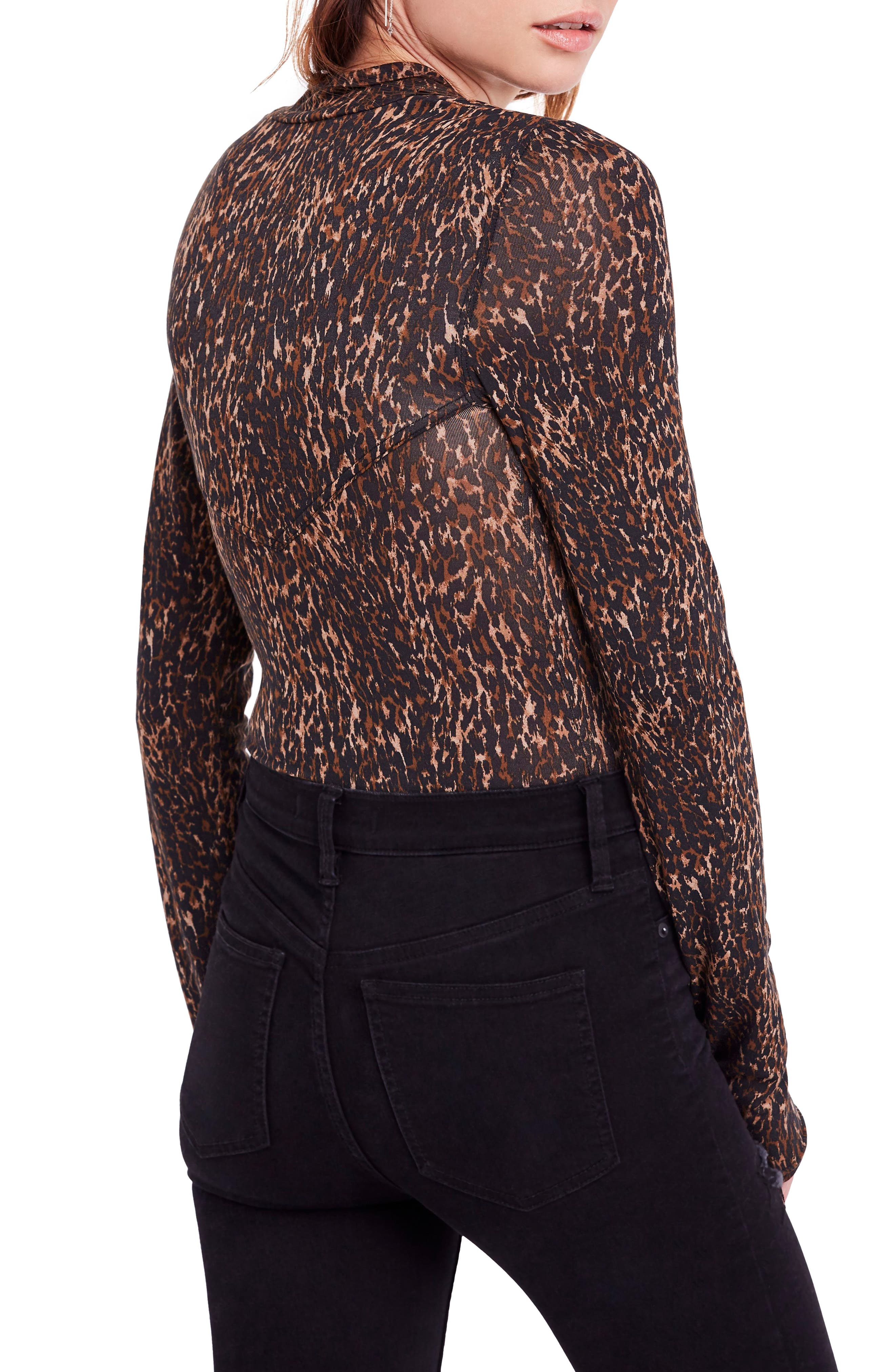 Wild Thing Leopard Print Top,                             Alternate thumbnail 2, color,                             214