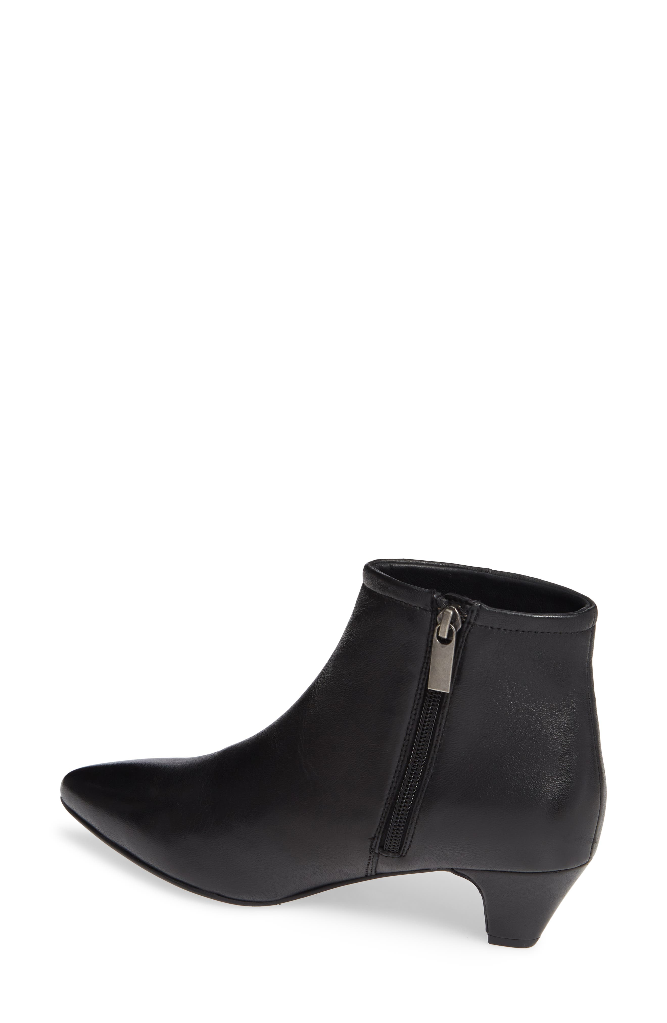 SEYCHELLES,                             Biome Bootie,                             Alternate thumbnail 2, color,                             BLACK LEATHER