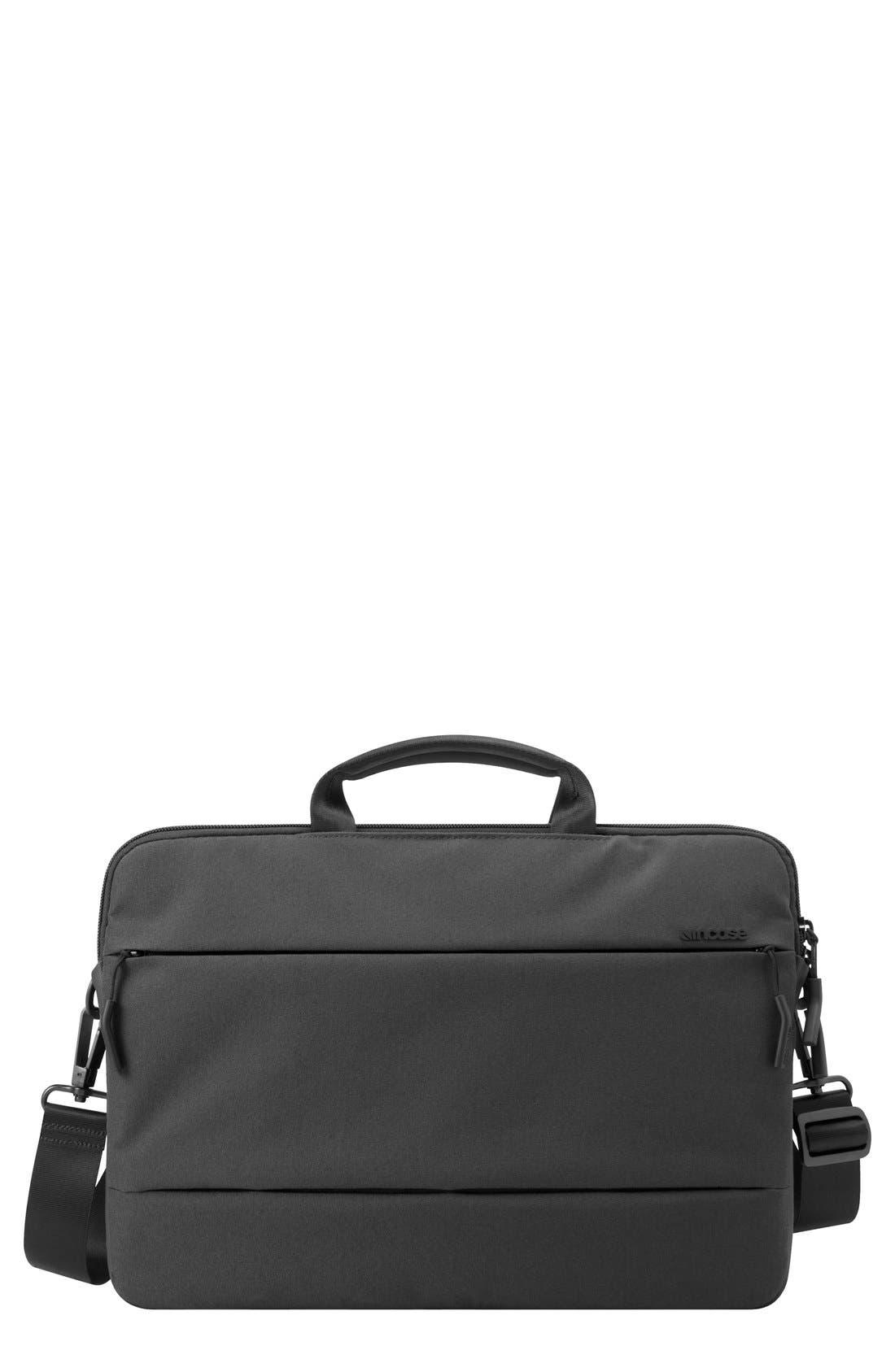 City Collection 15-Inch Briefcase,                         Main,                         color, BLACK