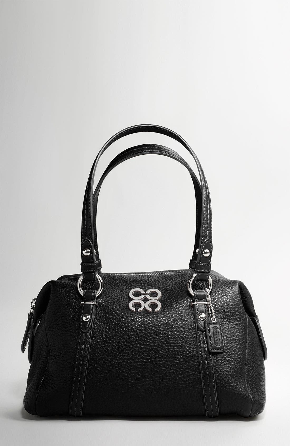 JULIA LEATHER SMALL BAG, Main, color, 006