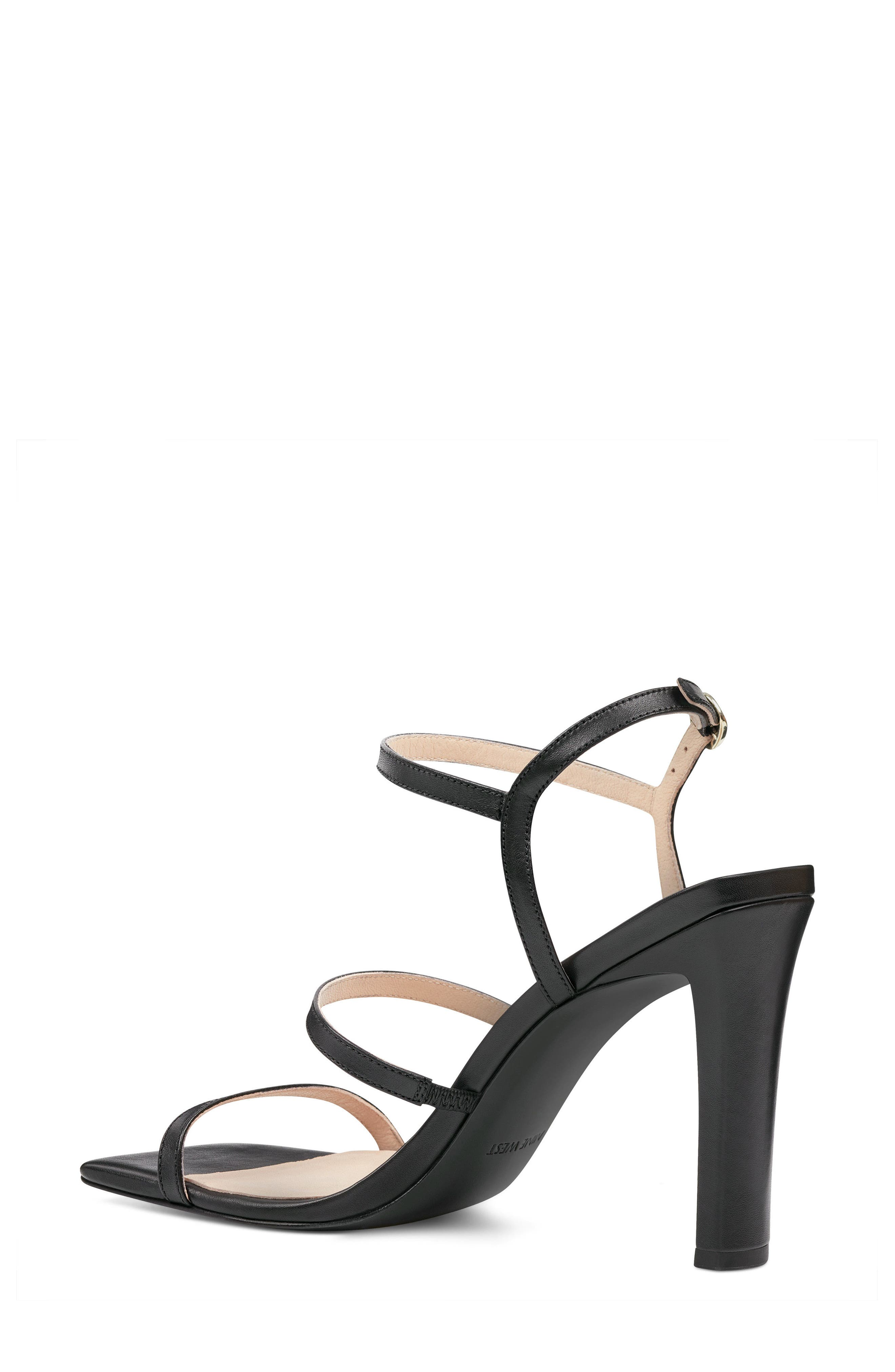 Gabelle - 40th Anniversary Capsule Collection Sandal,                             Alternate thumbnail 2, color,                             BLACK LEATHER