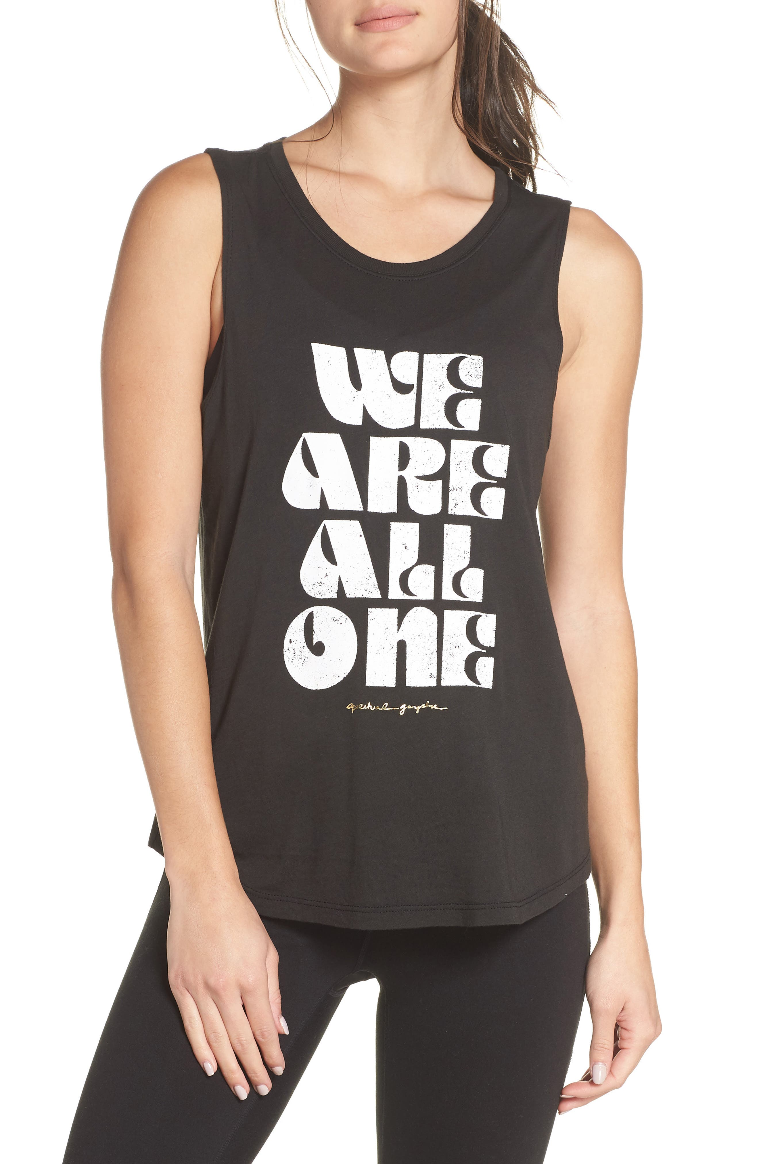 All One Muscle Tank,                             Main thumbnail 1, color,                             VINTAGE BLACK