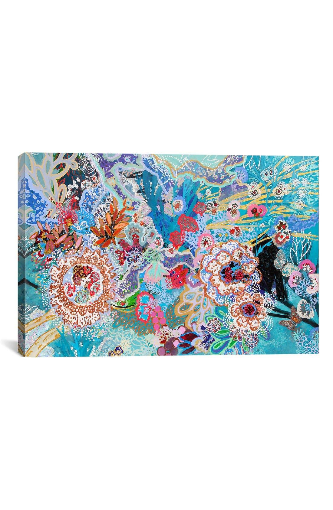 'Selva Submarina' Giclée Print Canvas Art,                             Main thumbnail 1, color,