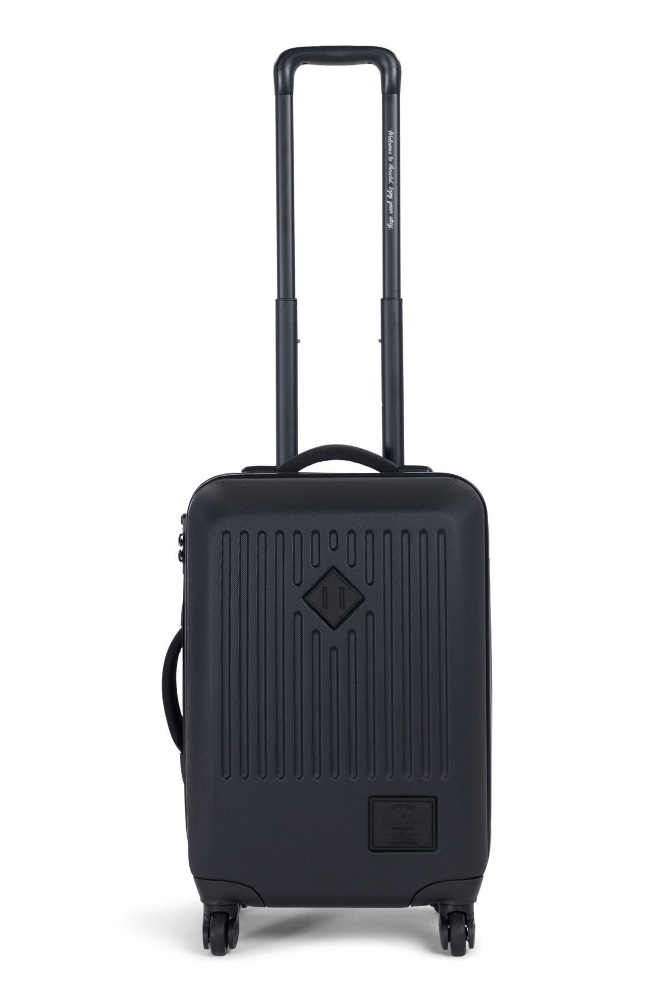 Trade 23-Inch Wheeled Carry-On,                             Main thumbnail 1, color,                             BLACK
