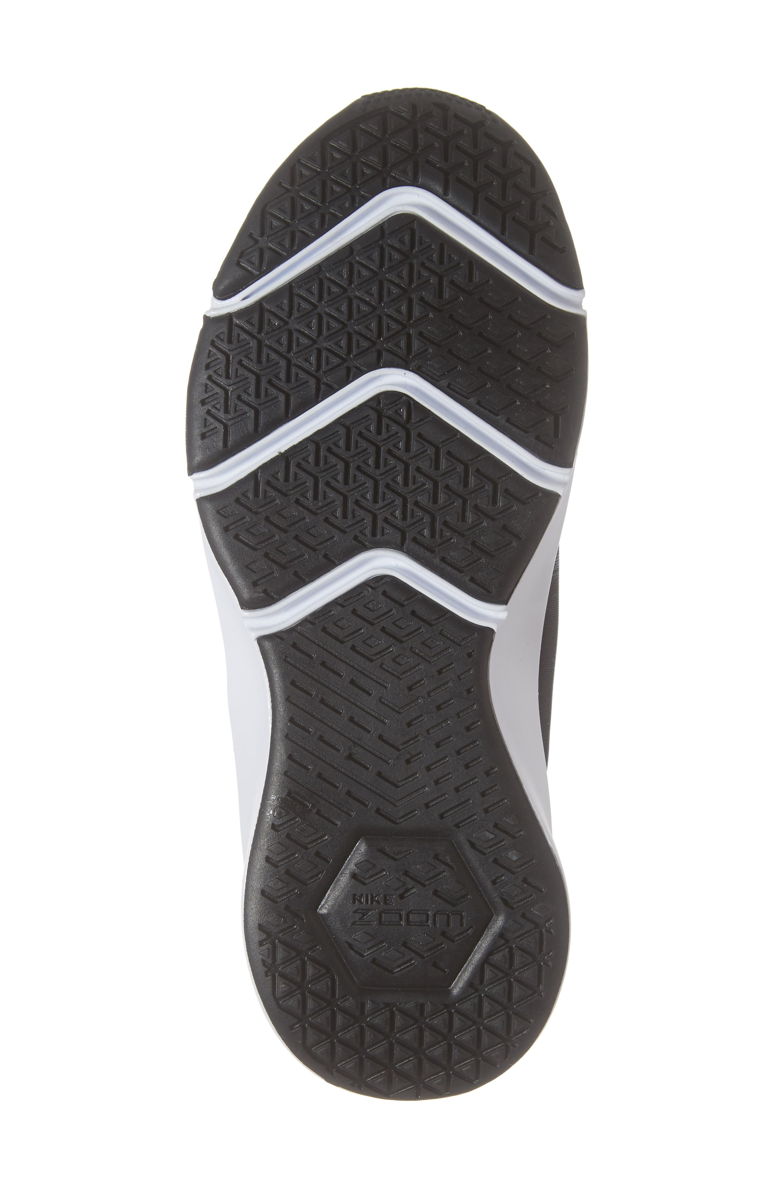 Air Zoom Elevate Training Shoe,                             Alternate thumbnail 6, color,                             BLACK/ WHITE