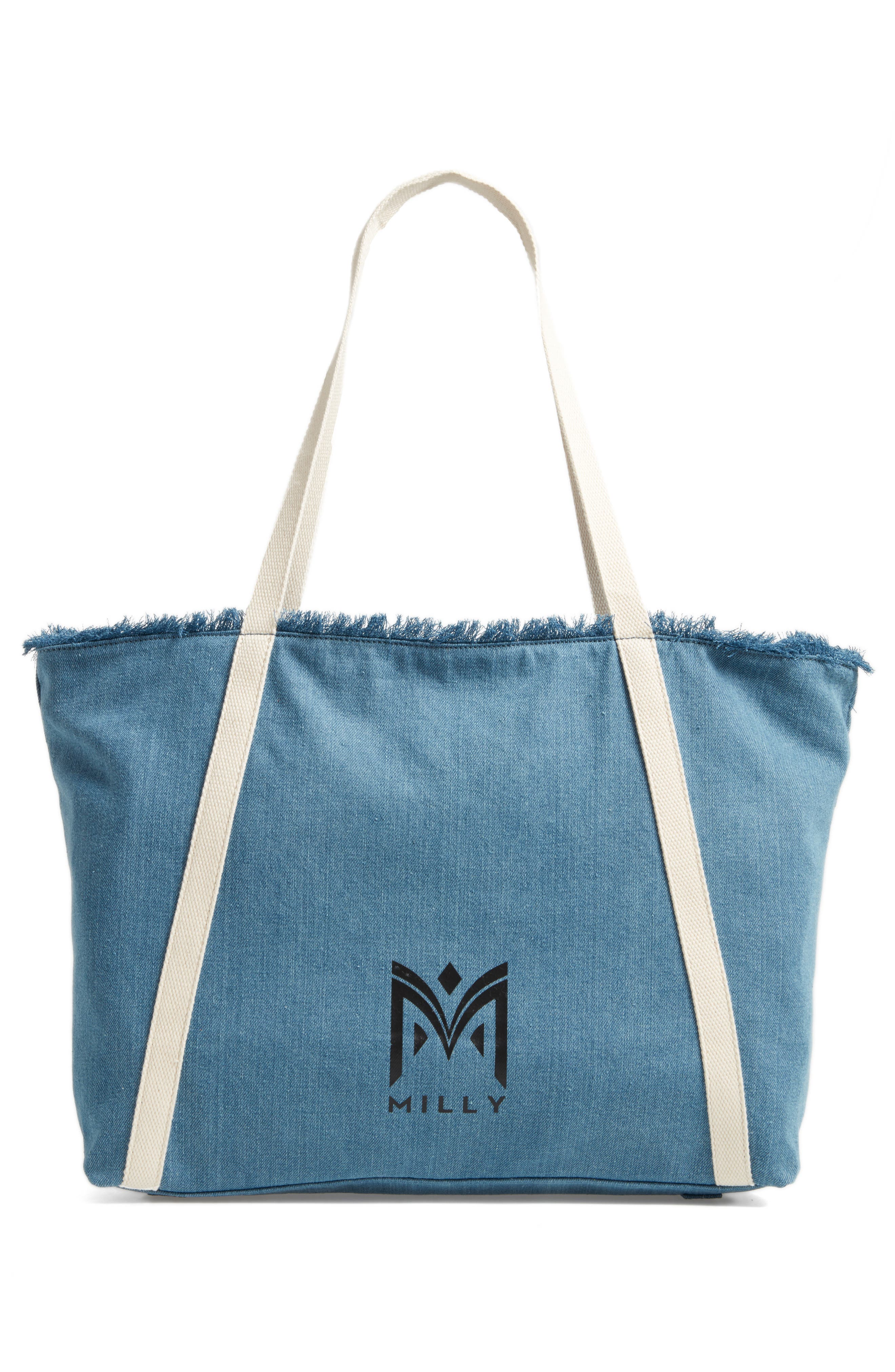 Canvas Tote,                             Alternate thumbnail 3, color,                             400