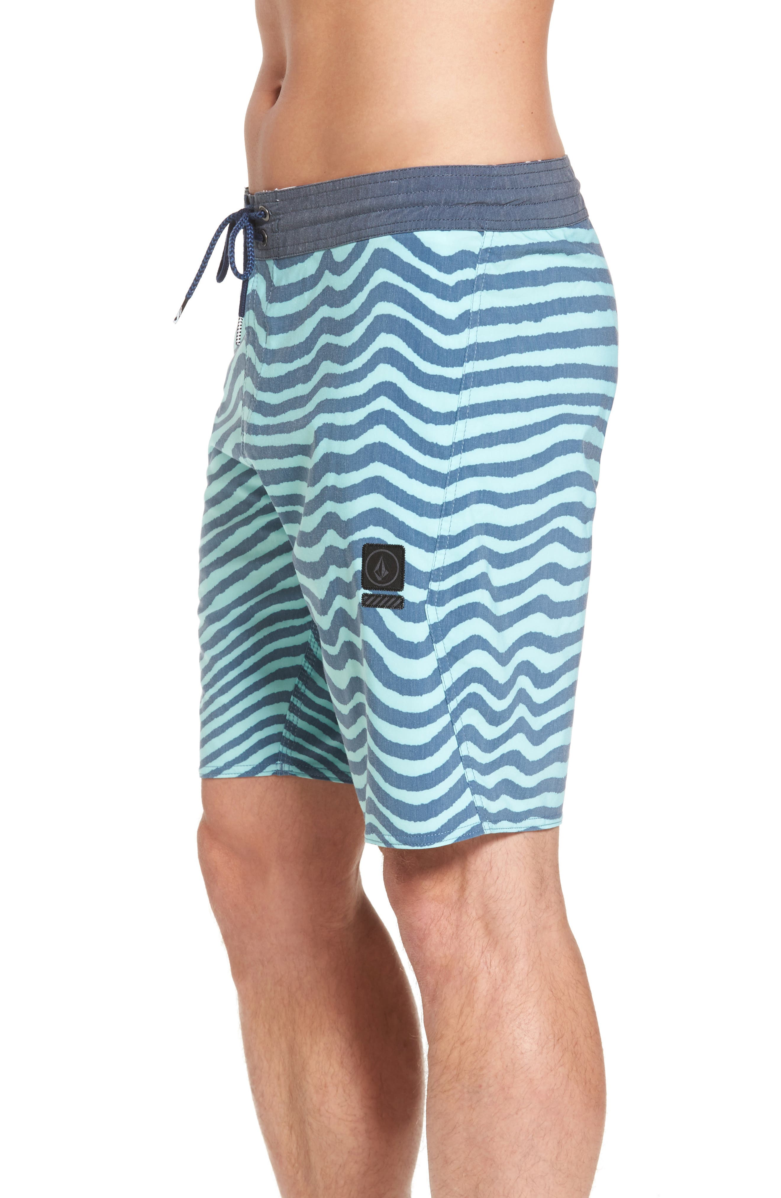 Stripey Slinger Board Shorts,                             Alternate thumbnail 32, color,
