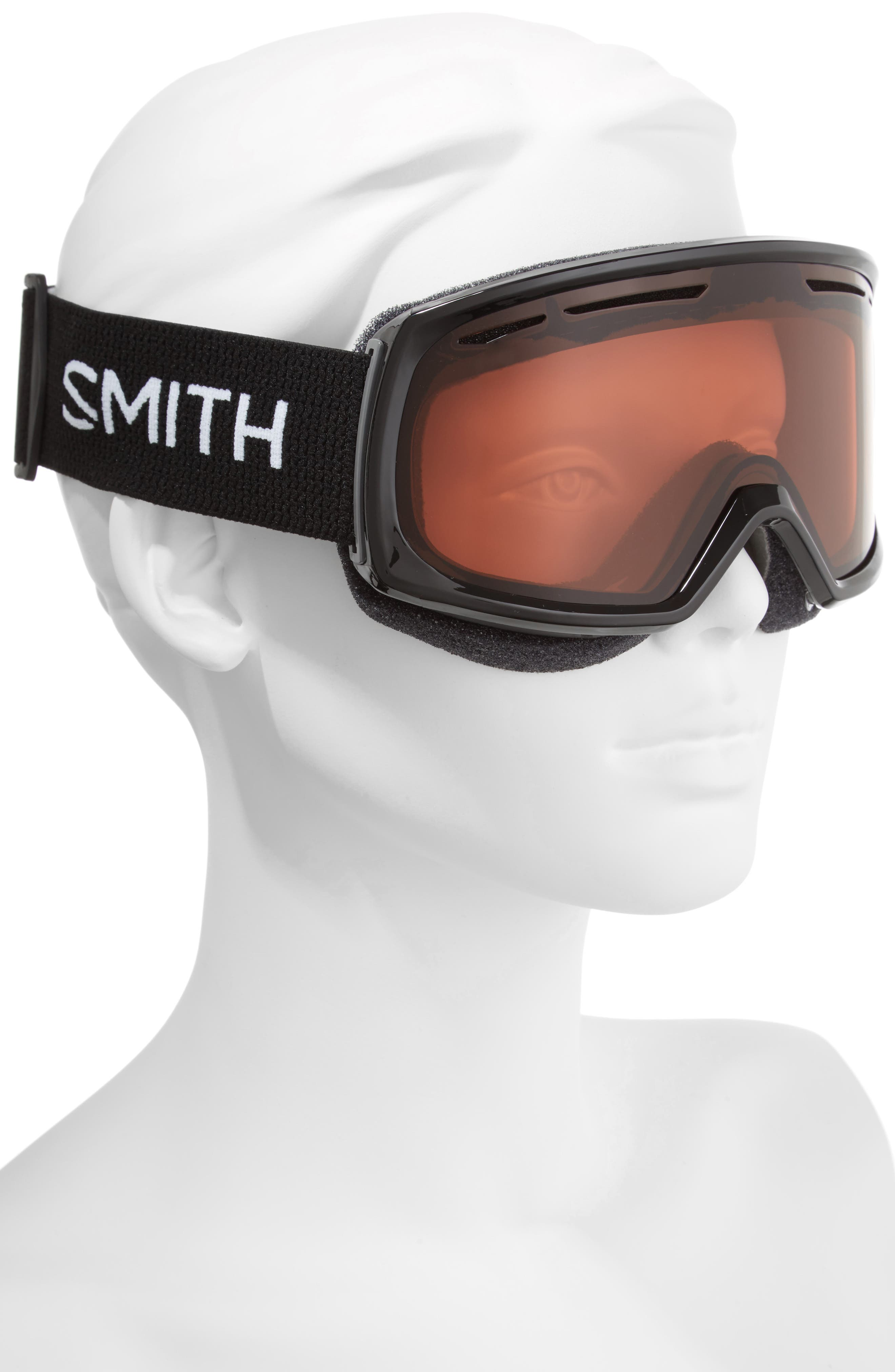 Drift 180mm Snow Goggles,                             Alternate thumbnail 2, color,                             BLACK/ RC36