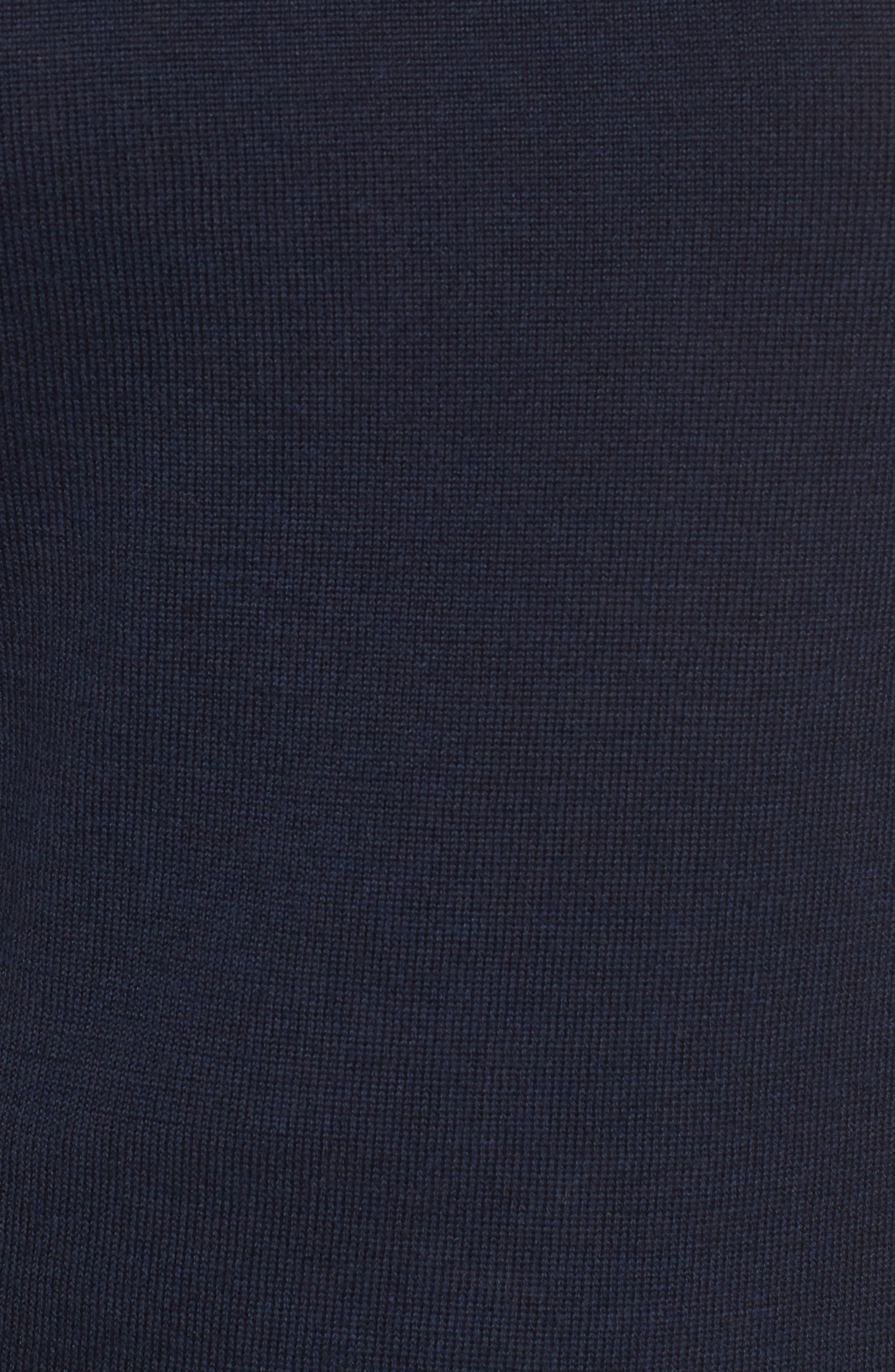 Tie Back Merino Wool & Silk Sweater,                             Alternate thumbnail 9, color,