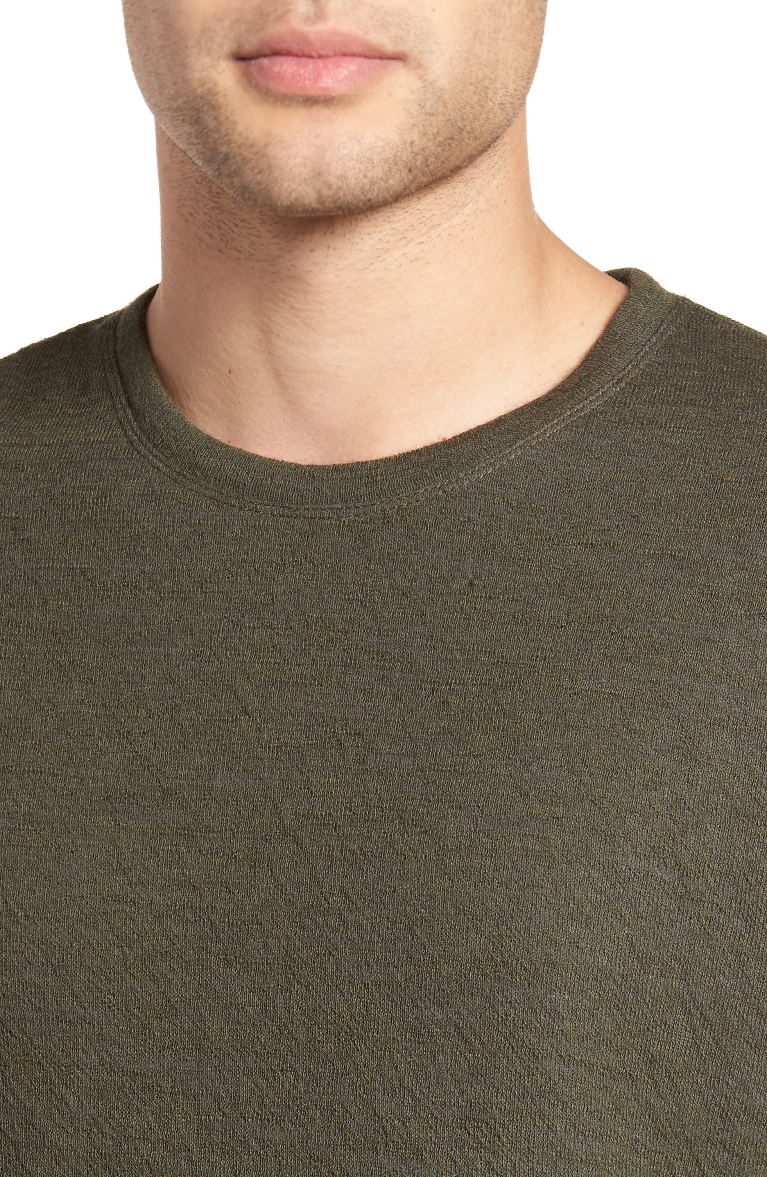 Double Knit Long Sleeve Shirt,                             Alternate thumbnail 7, color,
