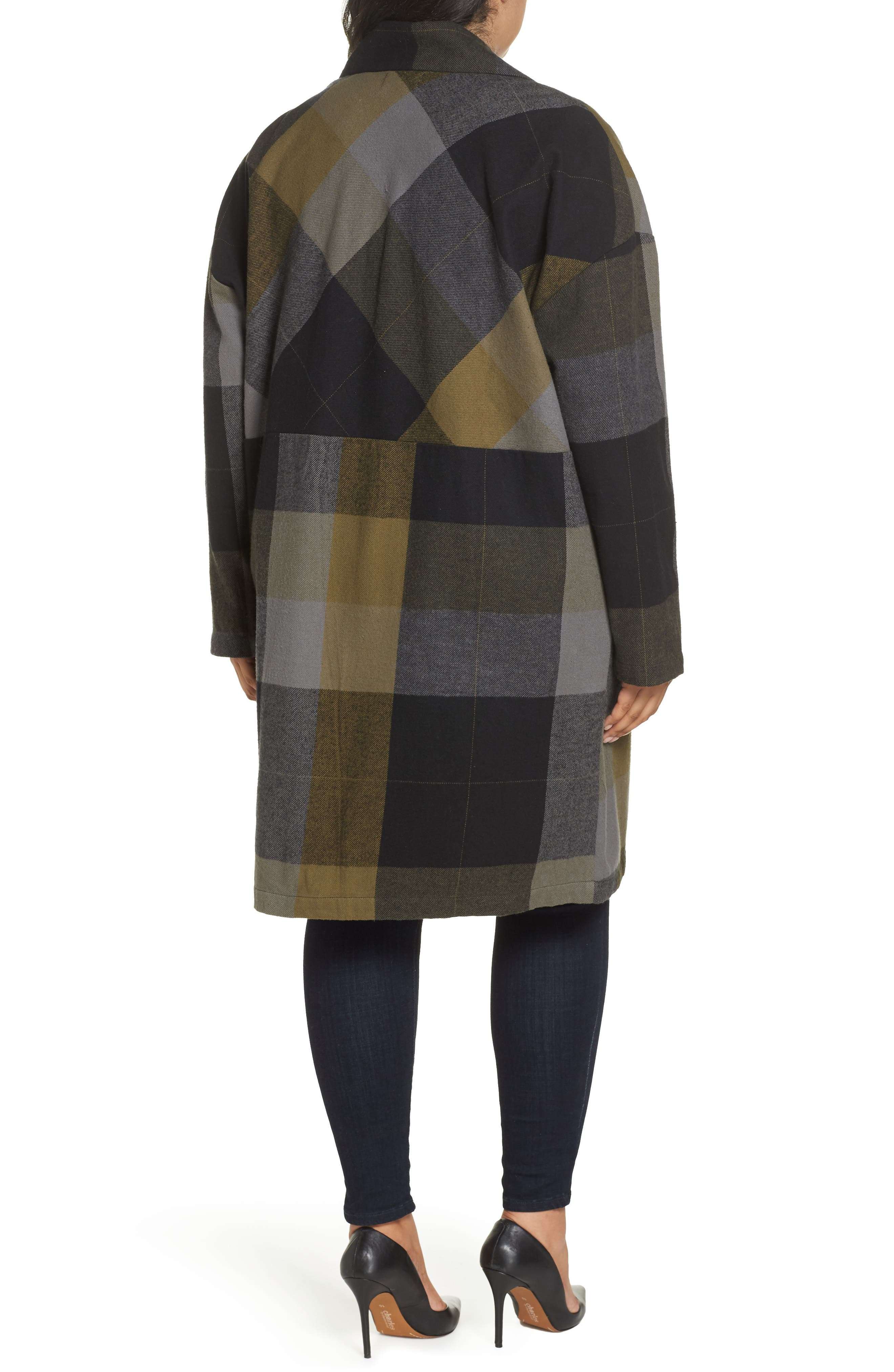 Plaid Duster,                             Alternate thumbnail 9, color,                             001