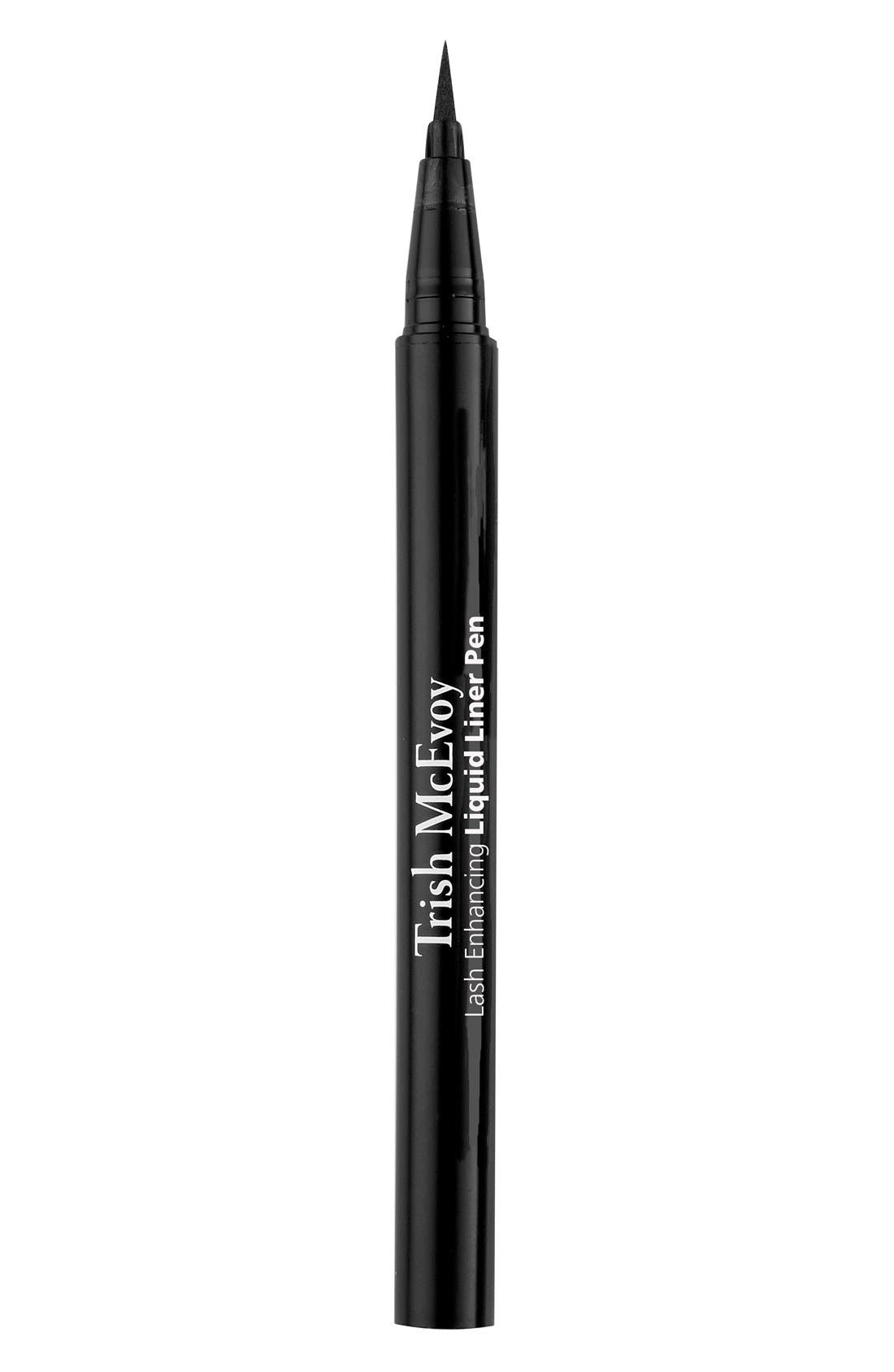 Lash Enhancing Liquid Liner Pen,                             Main thumbnail 1, color,                             INTENSE BLACK
