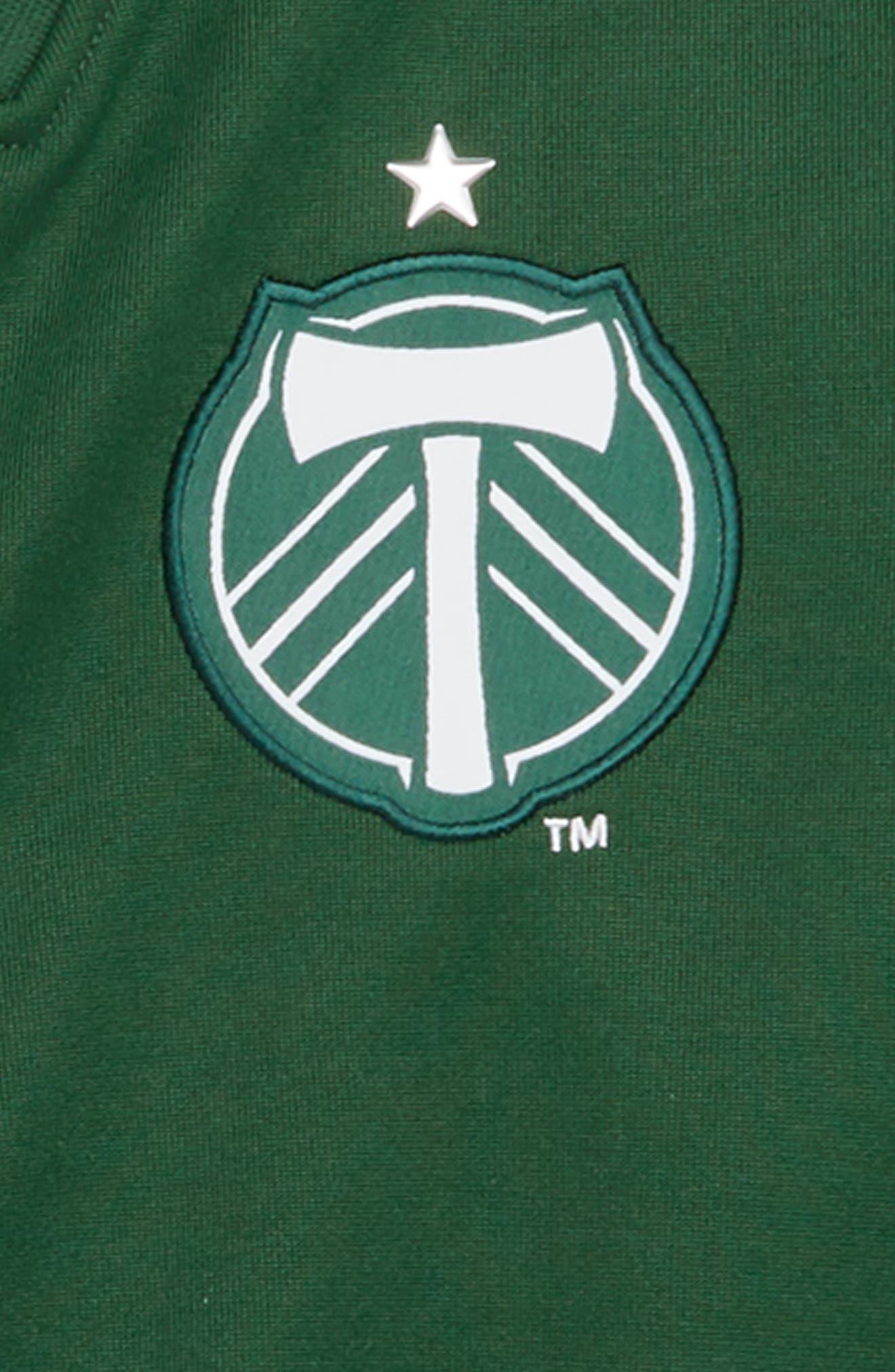 MLS Portland Timbers Anthem Full Zip Jacket,                             Alternate thumbnail 2, color,                             300