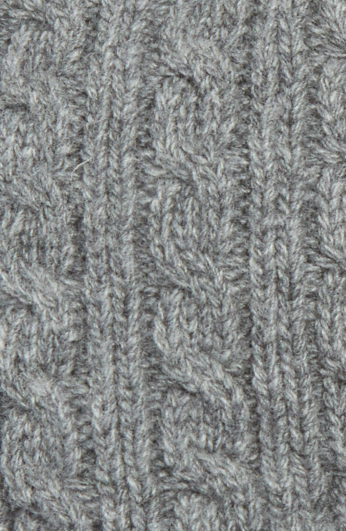 Cable Knit Wool & Cashmere Gloves,                             Alternate thumbnail 2, color,